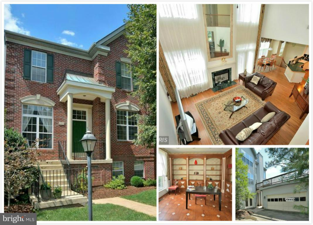 """Prefer long term lease. 4BR, 3.5BA w/ main level library, 2-stroy FR w/ FP. Chef's kitchen with 42"""" cabs, island & sep table space. Expansive master w/ vaulted ceiling & adjoining bath. Finished walk-out w/ newer carpeting & entertainment room, fitness room, secluded in-home office, full bath & au pair suite. Basement has rooms that can be used for 5th & 6th BRs. 29/50/66/495"""