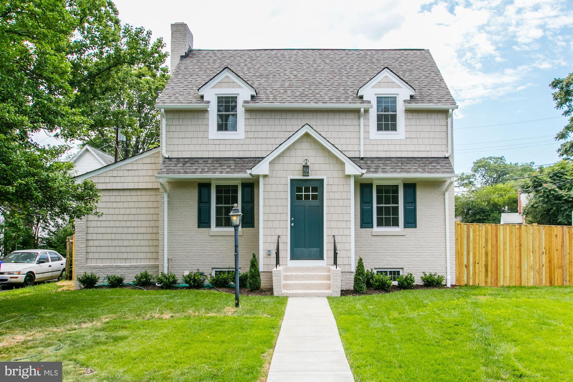 Totally renovated and move-in ready 4 bedroom 3 full bath detached home with gourmet kitchen, hardwood floors, fenced back yard and detached garage. Moments to Ballston Metro, shopping and dining. Easy access to DC, Tysons and more. Longer lease preferred. OPEN HOUSE ON FRIDAY 5:30PM - 6:30PM.