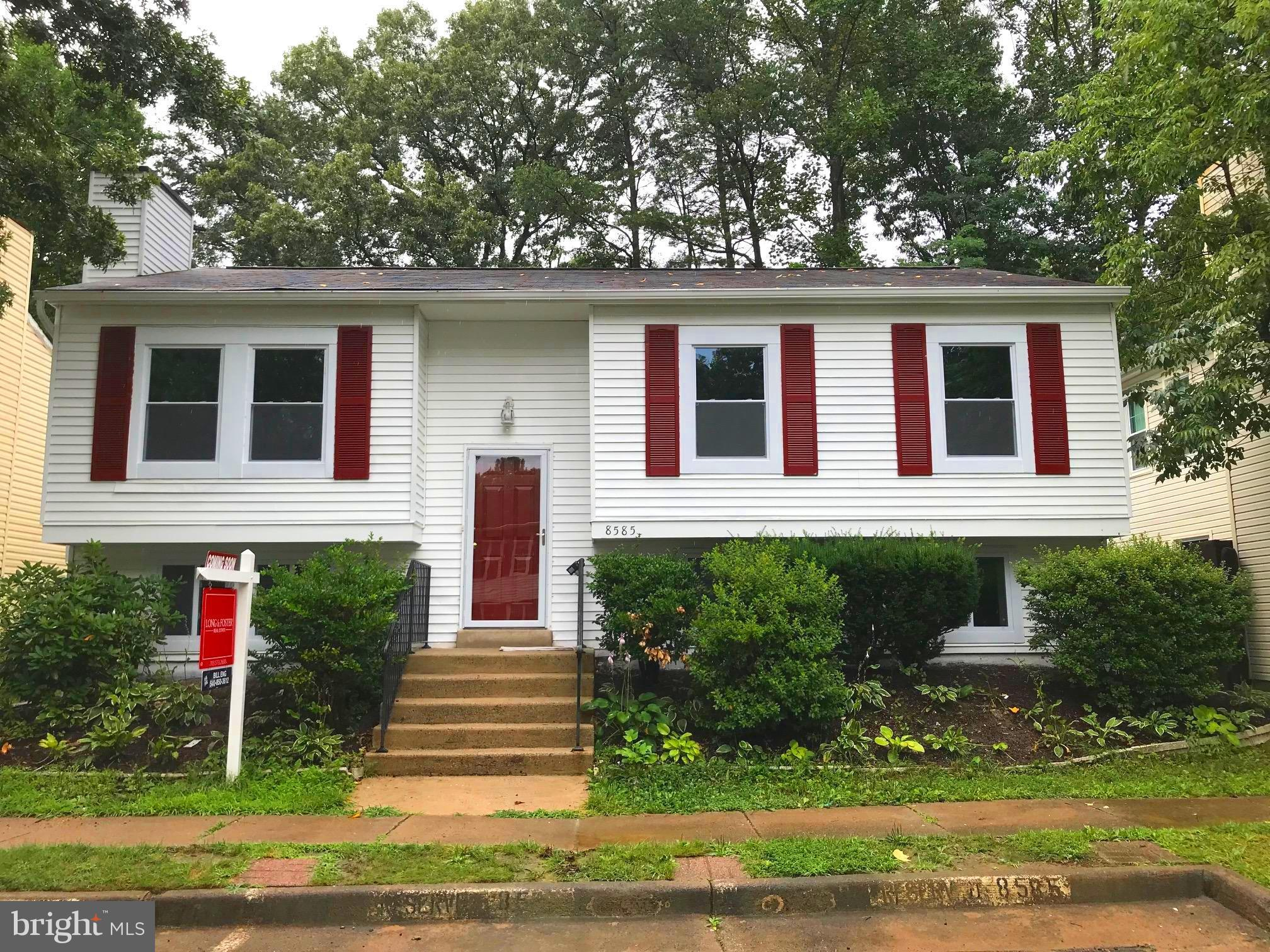 NEW PRICE!! West Springfield Single Family home, minutes from FFX pkwy, Commuter lot, METRO & VRE. Completely remodeled: new kitchen & baths, new appliances (W&D:as-is) Main Level:3 bedrooms & full bath.  Lower Level: huge bedroom, large family rm, full bath, Laundry/Utility Rm. All new flooring (carpet/ceramic tile), new windows, lighting, paint. Everything's done.  Just move in. Great schools.
