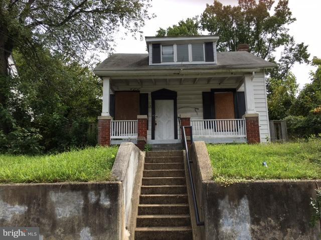 This one is great Rehab Ready opportunity in booming Capital Heights. Larger home on larger lot with detached garage. No working systems. All offers require proof of cash funds. LLC docs required for any new entity purchaser.