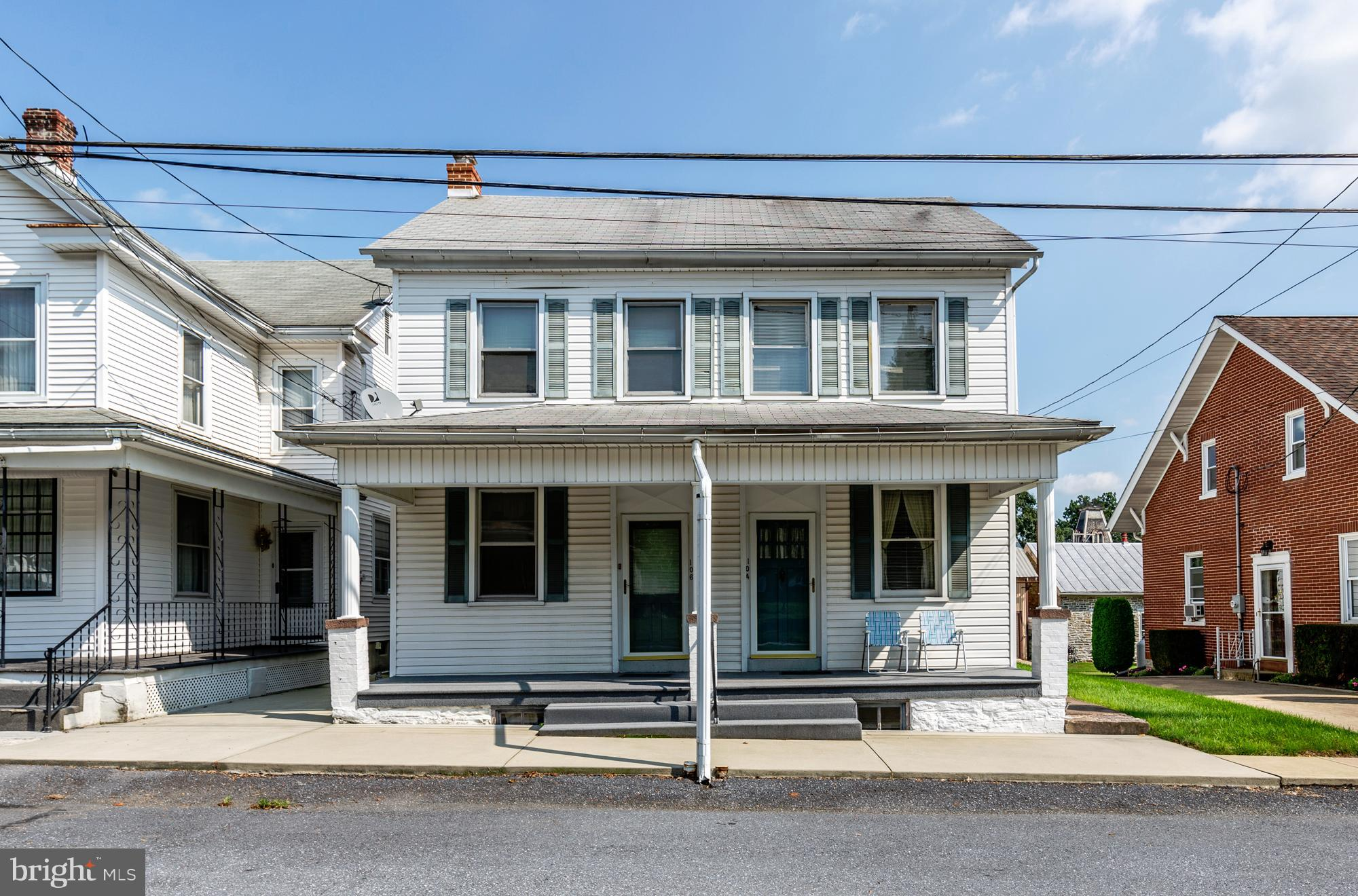 104 and 106 N CARPENTER STREET, SCHAEFFERSTOWN, PA 17088