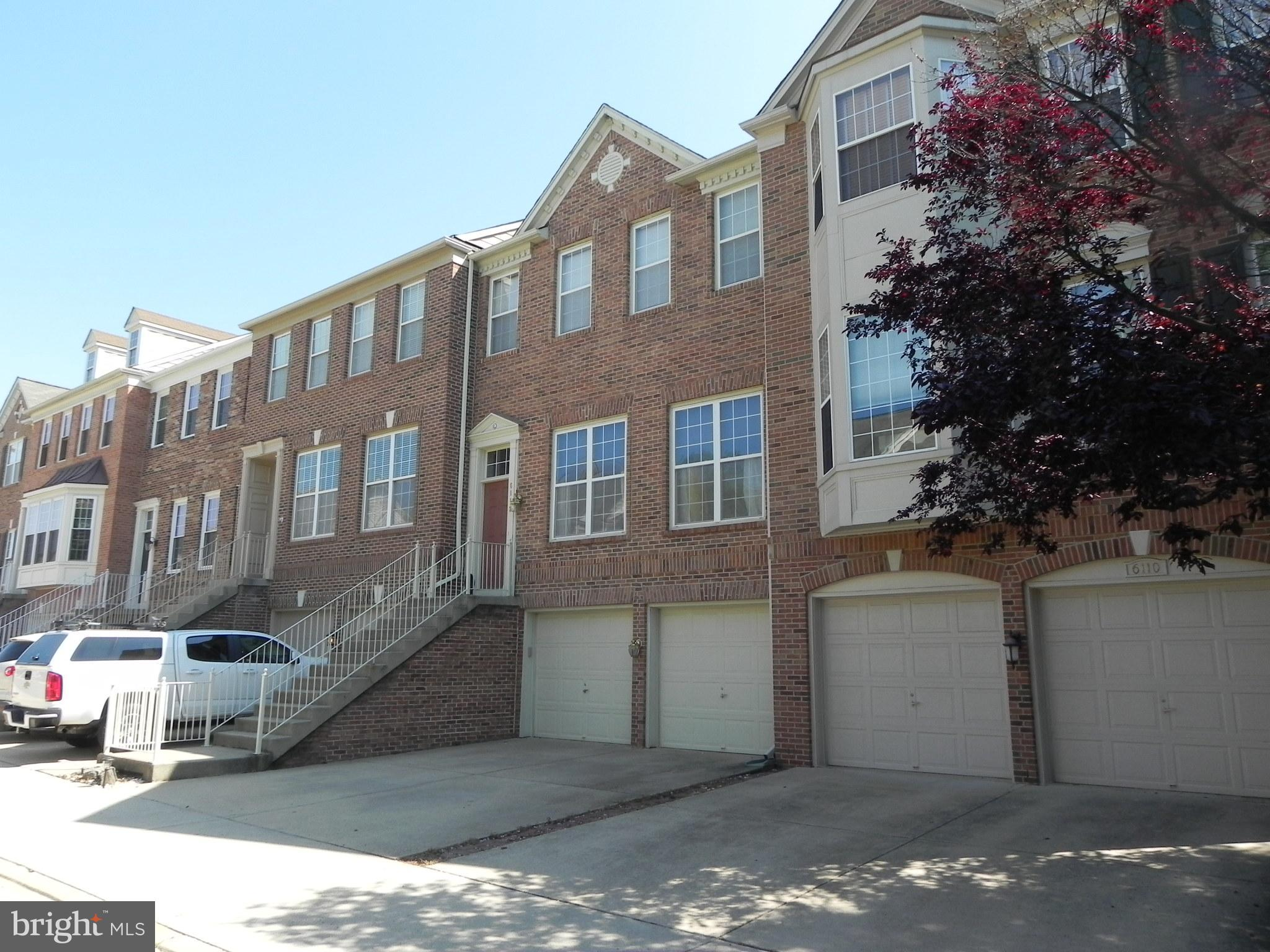 Large 3 bedroom 3.5 bath townhouse with great out door living spaces.  Huge deck, Koi pond with water fall, patio, 2 car garage, very nice home available mid August.  Please remove shoes while showing and call for application instructions and showing instructions.