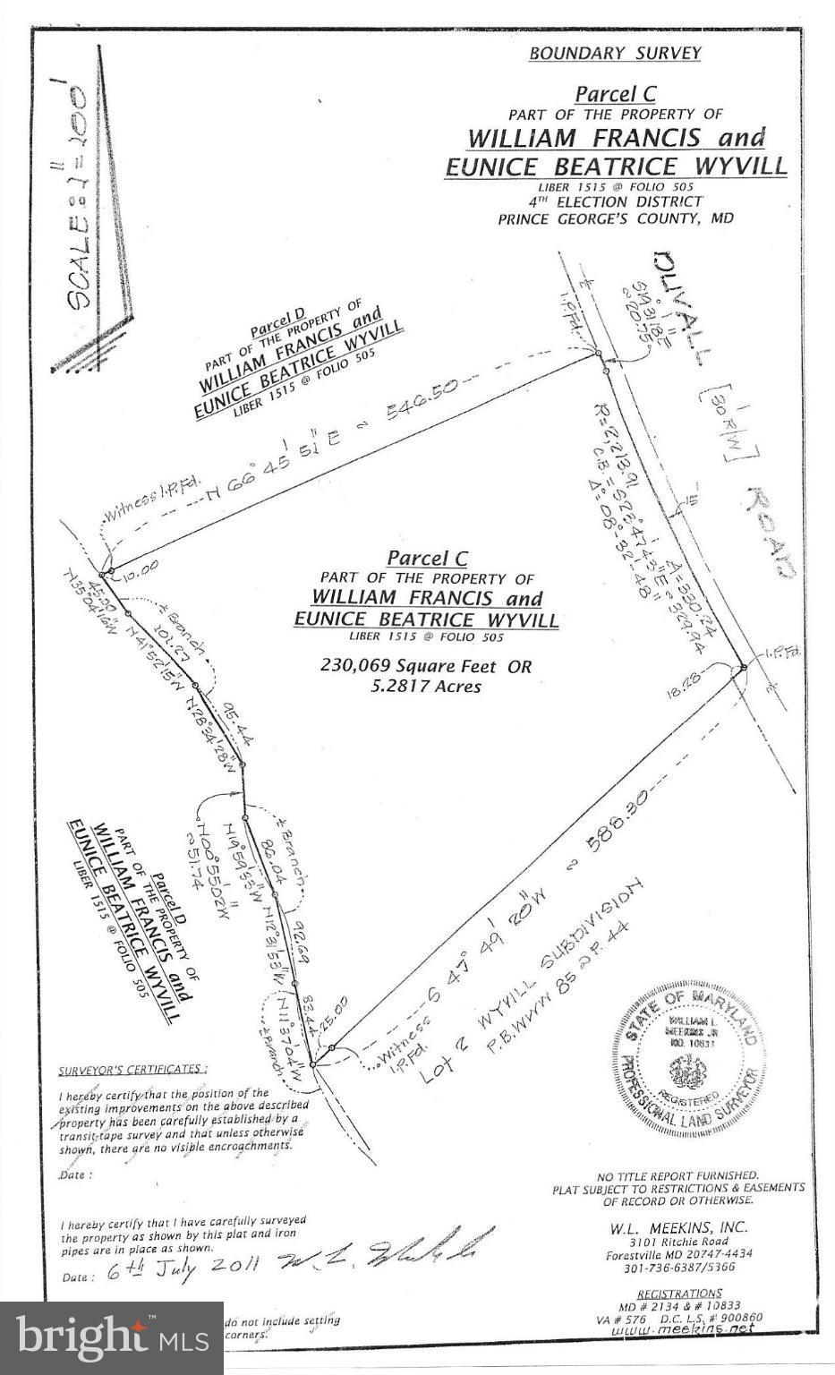 Mt Calvert Road Upper Marlboro 20772 Mls 1000033369 Re Max Of Black 20 Md