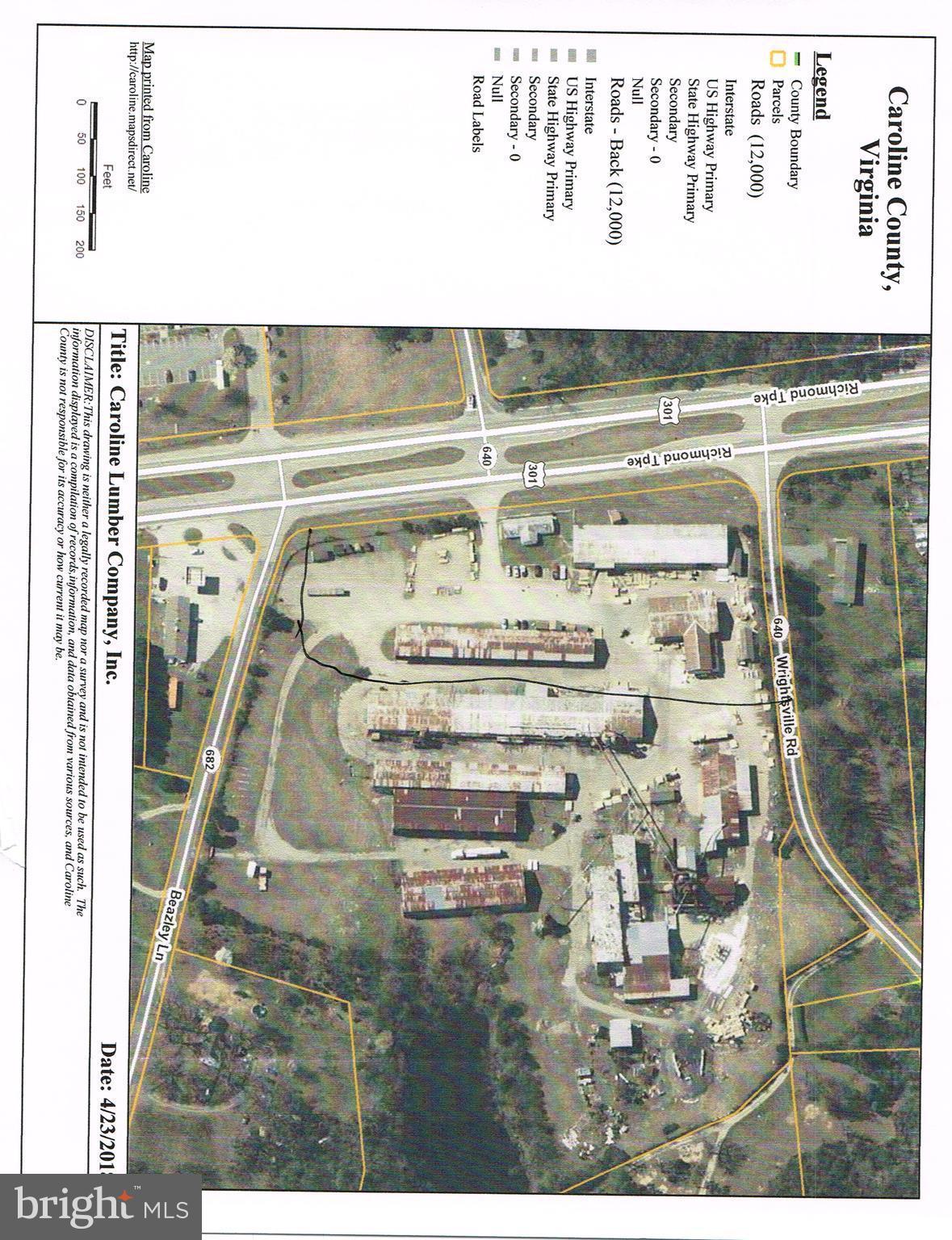 17155 RICHMOND TURNPIKE, MILFORD, VA 22514
