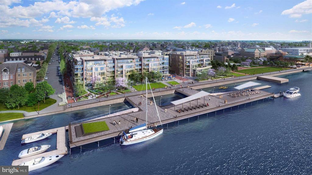 OPEN BY APPOINTMENT FOR PRE-CONSTRUCTION SALES! Perfectly situated along the Old Town waterfront, Robinson Landing will feature new townhomes and condominiums, shopping, dining, a revitalized pier, new public promenade & more. Residents will enjoy luxury amenities including state-of-the-art fitness center & yoga studio, all just steps from the Potomac riverfront. 2 parking spaces included.