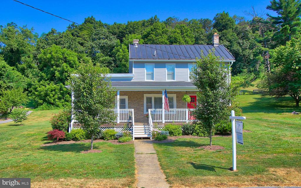 **OPEN HOUSE SUNDAY 8/18/2019 from 1-3pm** Ever dreamed of living in a home like you see on Fixer Upper?? This immaculate farmhouse renovation is straight out of a magazine, boasting a large open floor plan, gourmet eat-in kitchen w/granite counters and stainless steel appliances, 3 bedrooms 2 full baths, large front porch and rear patio (perfect for cookouts and entertaining!) with nearly an acre of land backing to woods. In the highly regarded Hereford School Zone, in a quiet & serene setting, yet minutes to Rt30 and Falls Rd. Not much available in this location with these finishes and at this price point!