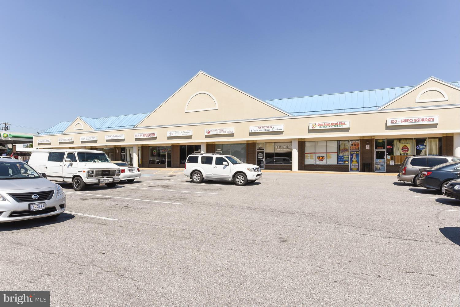 Allentown Way Plaza is located across from Aldi just off Branch Ave in Camp Springs and nearby Joint Andrews. All suites $18 psf  Extras utilities + water + trash. Former pick up cleaners Suite 5810/Size 1470 sf. $2,200. Former phone store Suite 5814 1,440 sf/ $2,160.  Well maintained center. Minimum 3 yr lease. $40 non refun app.