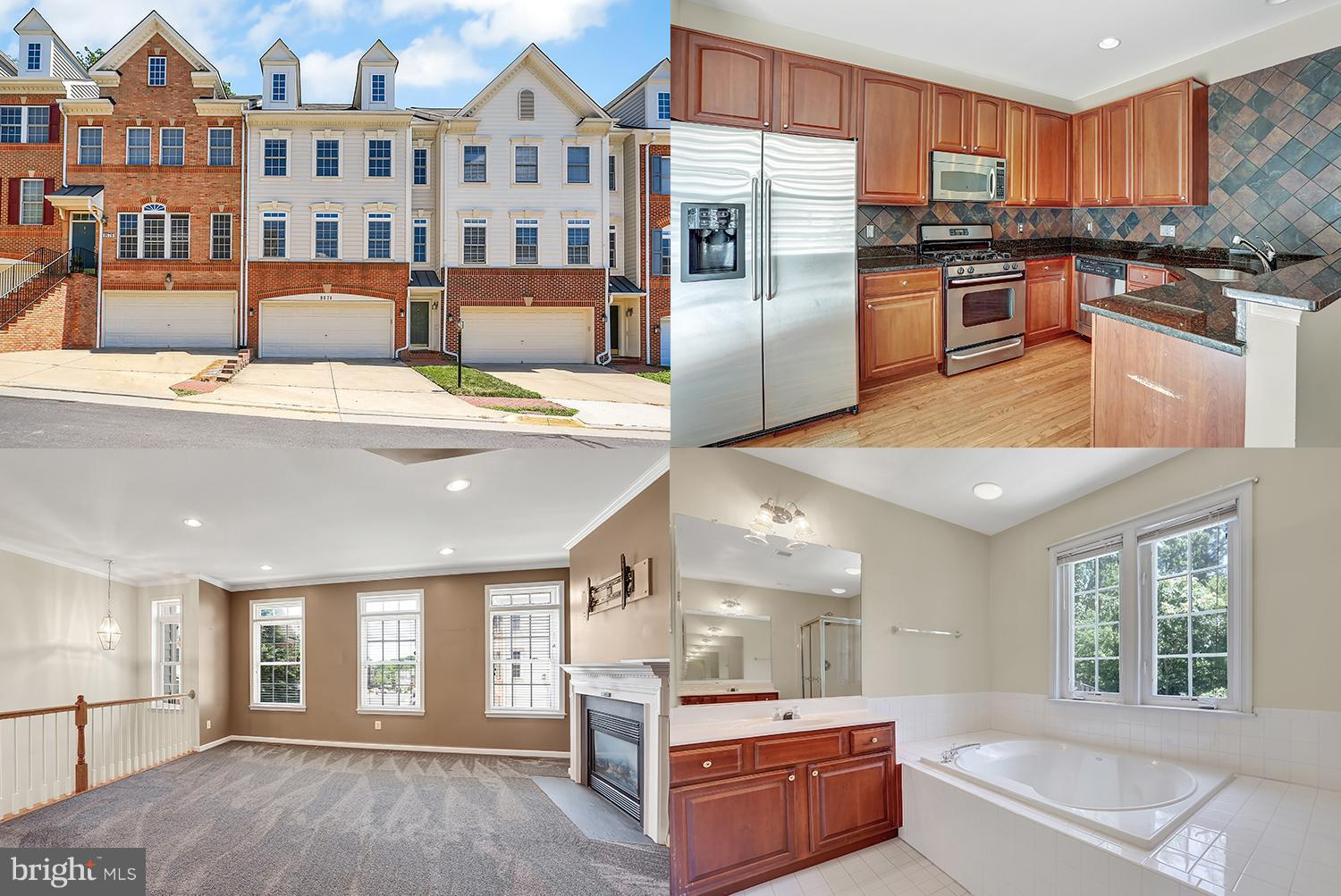 Well maintained town home in premier commuters location! Spacious with nearly 2,000 sq ft! Gourmet kitchen with hardwood floors, stainless steel appliances and access to awesome deck! Private back yard. Large master suite with luxury bath! Move In Ready! Close to shopping, major roads, and more!
