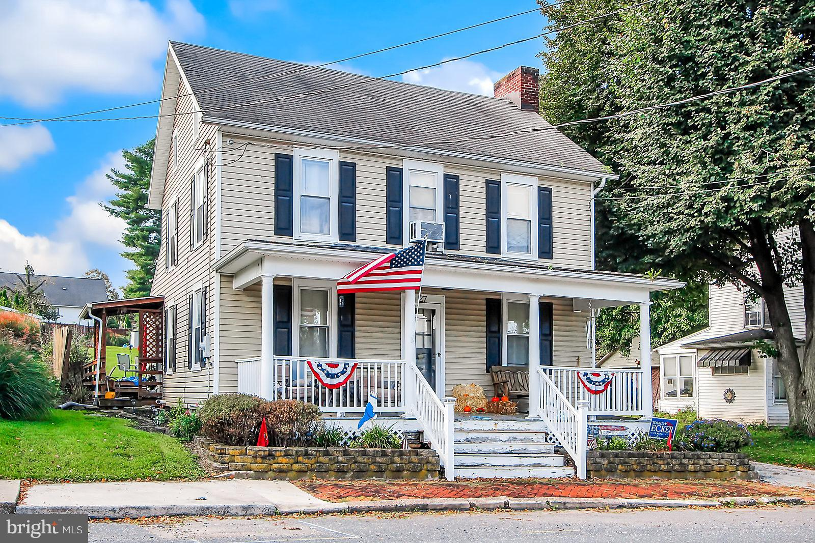 27 S HIGH STREET, ARENDTSVILLE, PA 17303