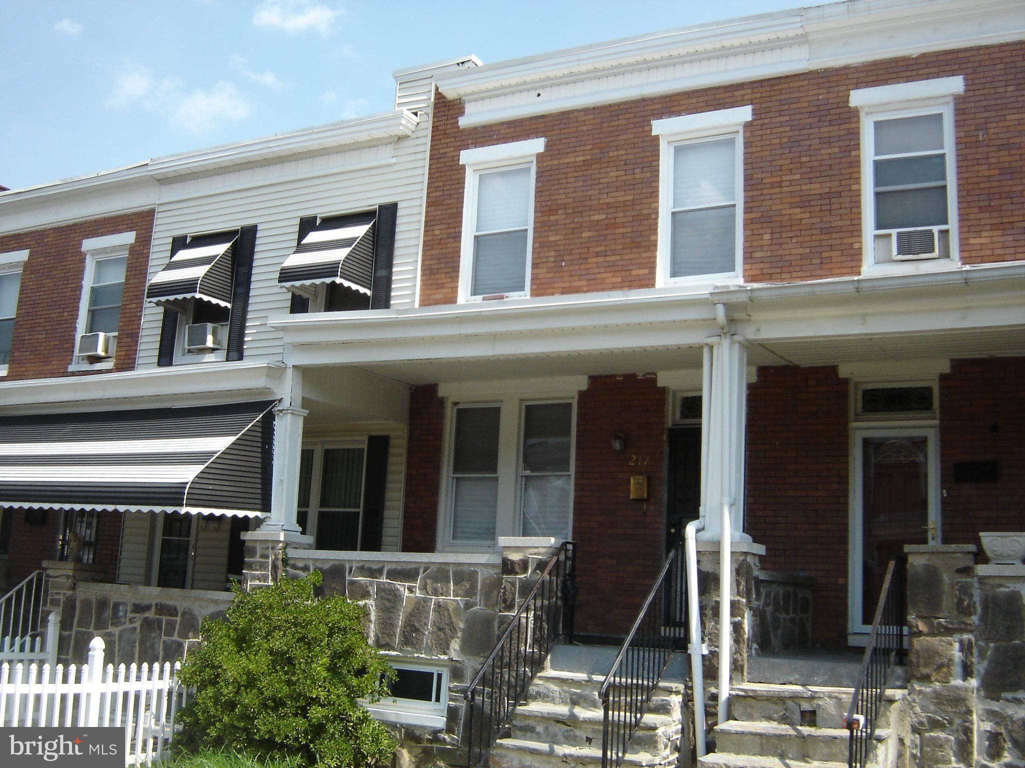 217 N. MONASTERY AVENUE, Baltimore, MD 21229