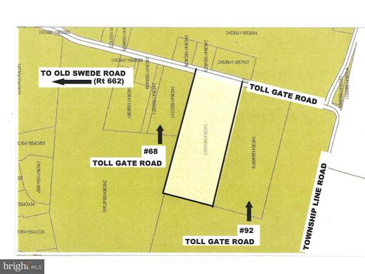Property for sale at 000 Toll Gate Rd, Douglassville,  PA 19518