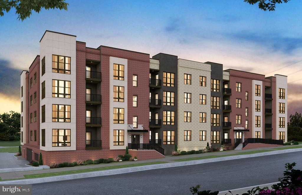 Reston's hottest new metro community just footsteps from Wiehle Metro Station. Live an upscale lifestyle close to vibrant nightlife, outdoor recreation & more! The kitchen in the Brooklyn home design opens up to a large gathering room where you will enjoy entertaining with friends & family. Enjoy a huge walk-in closet in the owner's suite. The secondary bedroom also has its own full bath. This corner unit features Kitchen Aid Appliances, Iced White Quartz Counters and Espresso Cabinets with 5 inch Hardwood floors and upgraded tiles in the Bathrooms. Please call (703) 552-5082 for more information.