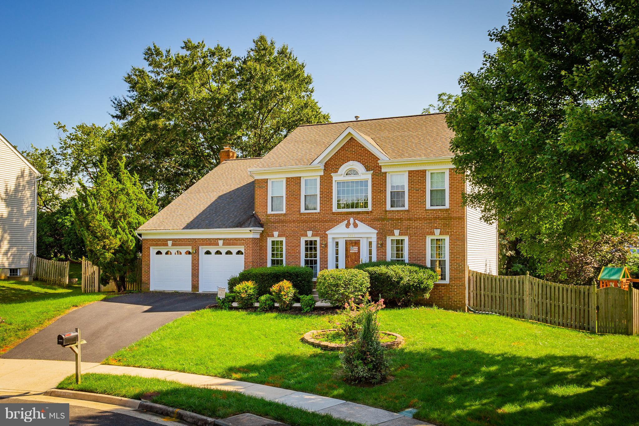 Big Colonial is delightfully updated on a quiet cul-de-sac w/private fenced yard, Trex deck & garden area! Two-story Foyer! Main Study! Spacious LivingRm & rear DiningRm w/Bay Window- Updated Kitchen w/granite & Island w/breakfast bar is well-equipped! Cathedral MBR w/Sitting Rm & Luxury Bath- Finished LL has Media & Game Area, Den w/FBA & RecRm w/Wet Bar!  Close to shops, beltway, OldTown & more!