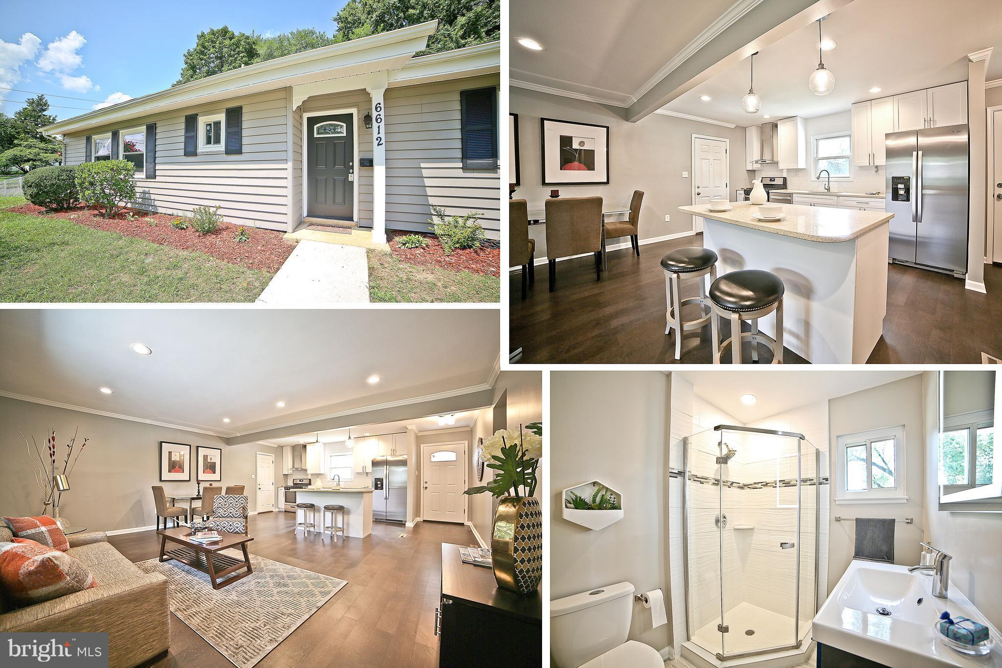 OPEN HOUSE SUN. 10/07/18 FROM 11-1 PM. NEW PRICE !!!. SFH FULLY RENOVATED,CORNER LOT OPEN FLOOR PLAN, 4 BEDROOMS, 2 FULL BATHS, FRESHLY PAINTED, EAT-IN KITCHEN, NEW CABINETS, NEW COUNTER TOPS, NEW SS APPLIANCES, NEWER WINDOWS, NEW ELECTRICAL PANEL,  NEW AC UNIT, NEW HDWD FLOORS, NEWER WATER HEATER, BIG BACKYARD. NO HOA. WALK TO BUS & METRO. EASY ACCESS TO 95, 495, 395, CLOSE TO SPRINGFIELD MALL.