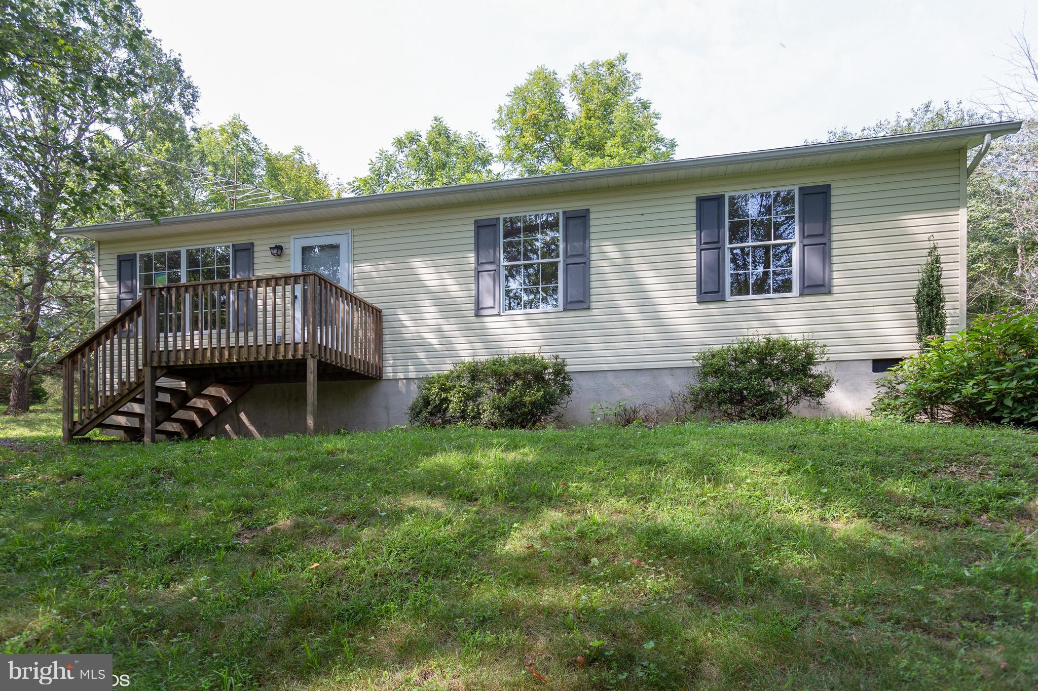 Ranch style come sits on approx. 1.03 ac in Hidden River SD just off Rt 51. Home has recently been refinished with new appliances, paint and carpet and features 3 BRs, 2 full BAs and a large, detached garage.