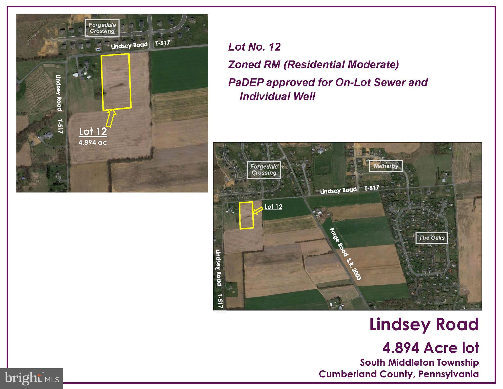 LOT NO. 12 - LINDSEY, BOILING SPRINGS, PA 17007