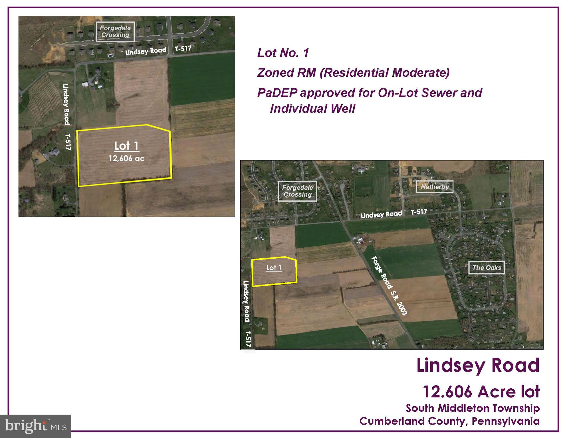 LOT NO. 1 - LINDSEY, BOILING SPRINGS, PA 17007