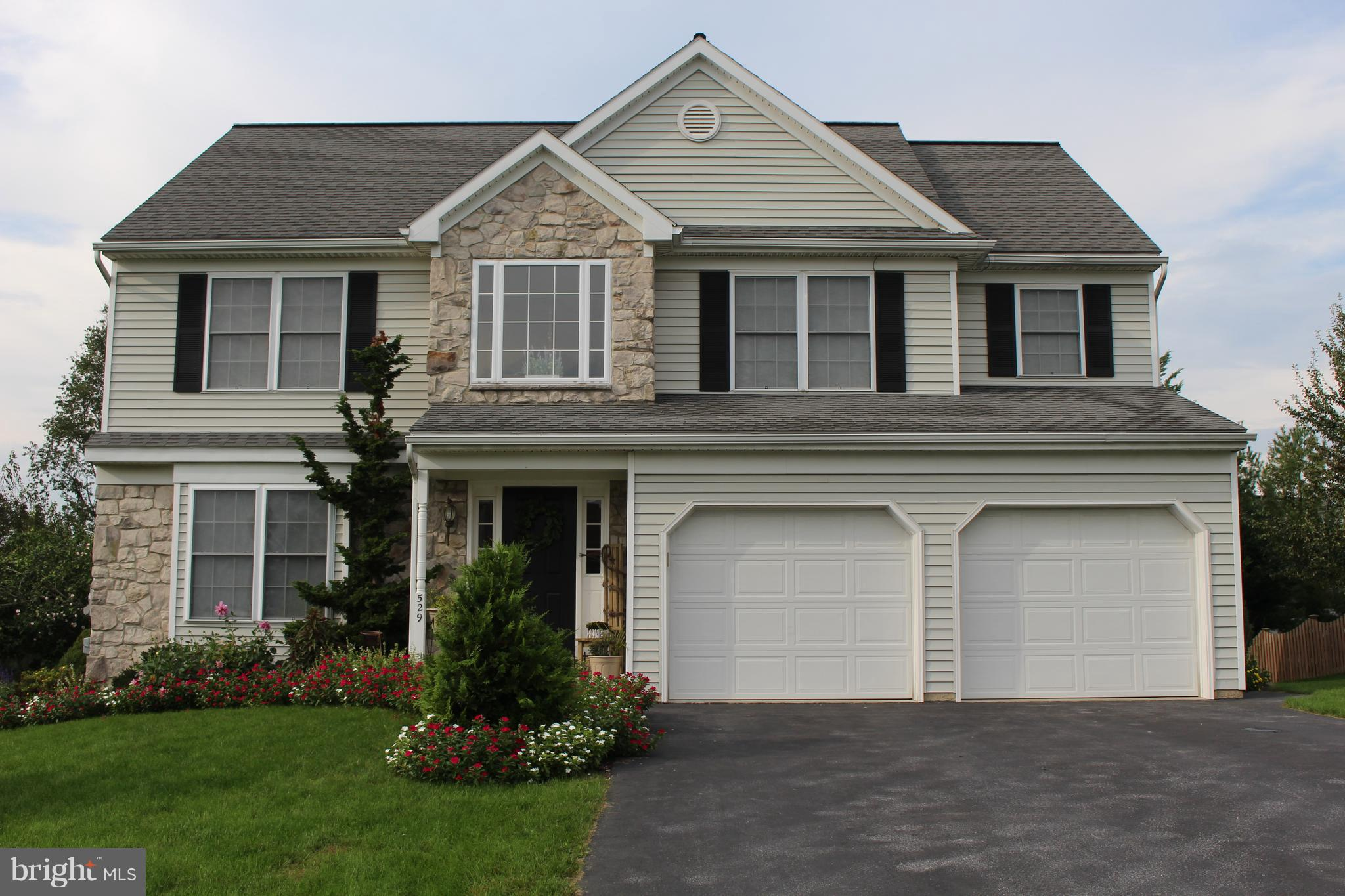 529 SPRING HOLLOW DRIVE, NEW HOLLAND, PA 17557