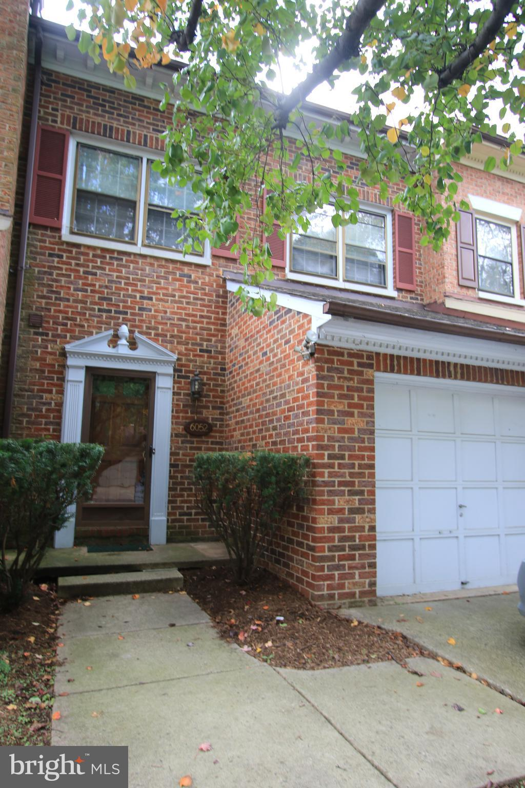 Four finished levels, Master Suite w/ lux. master bath & large loft, large attic storage space off loft area. Hardwood floors in foyer, living & dining rooms. Garage. Recreation room on lower level w/ wood burning fireplace & full bath. Fenced back yard. Easy access to I-495 and Metro.  $60 app fee per adult.