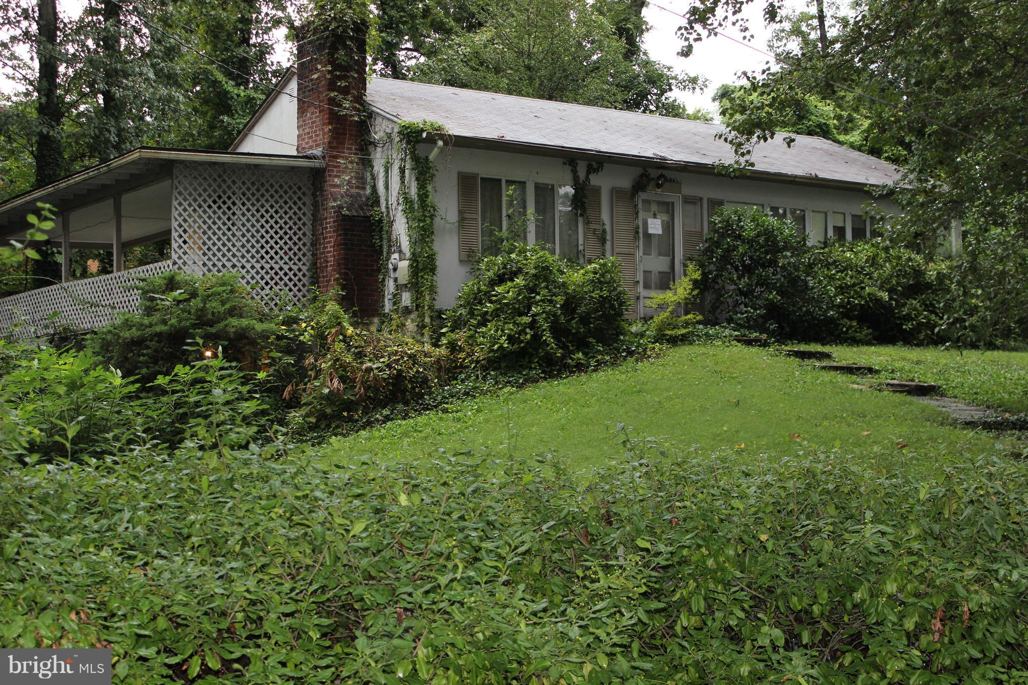 Location Location Location!!! GREAT INVESTOR DEAL! House is a Fixer Upper/Tear Down. About $100K in equity in this move-in condition, property in sort after area, Cul-De-Sac neighborhood. Nested among $800K homes. Comps in $600K range. Family room w/Fire place. Easy commute to DC. Property being sold completely *As-Is, Where-Is* Listing shown by appointment only.