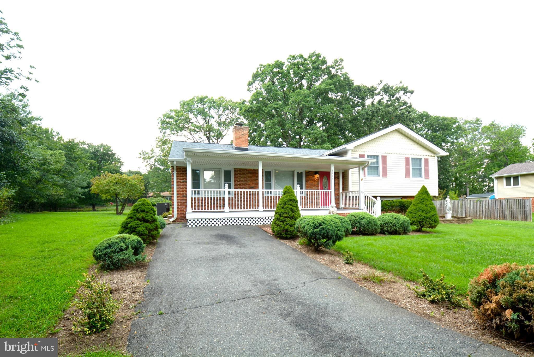 Great split level home on large private lot at the end of a cul-de-sac. New paint and carpet through-out. New double pane windows on main level. New kitchen and dining room floor.  Kitchen w/new granite counters, cabinets and appliances - Refrig, smooth top stove, microwave and dishwasher.  Large shed in back yard. Minutes to Pentagon, Fort Belvoir, schools, metro & 395.