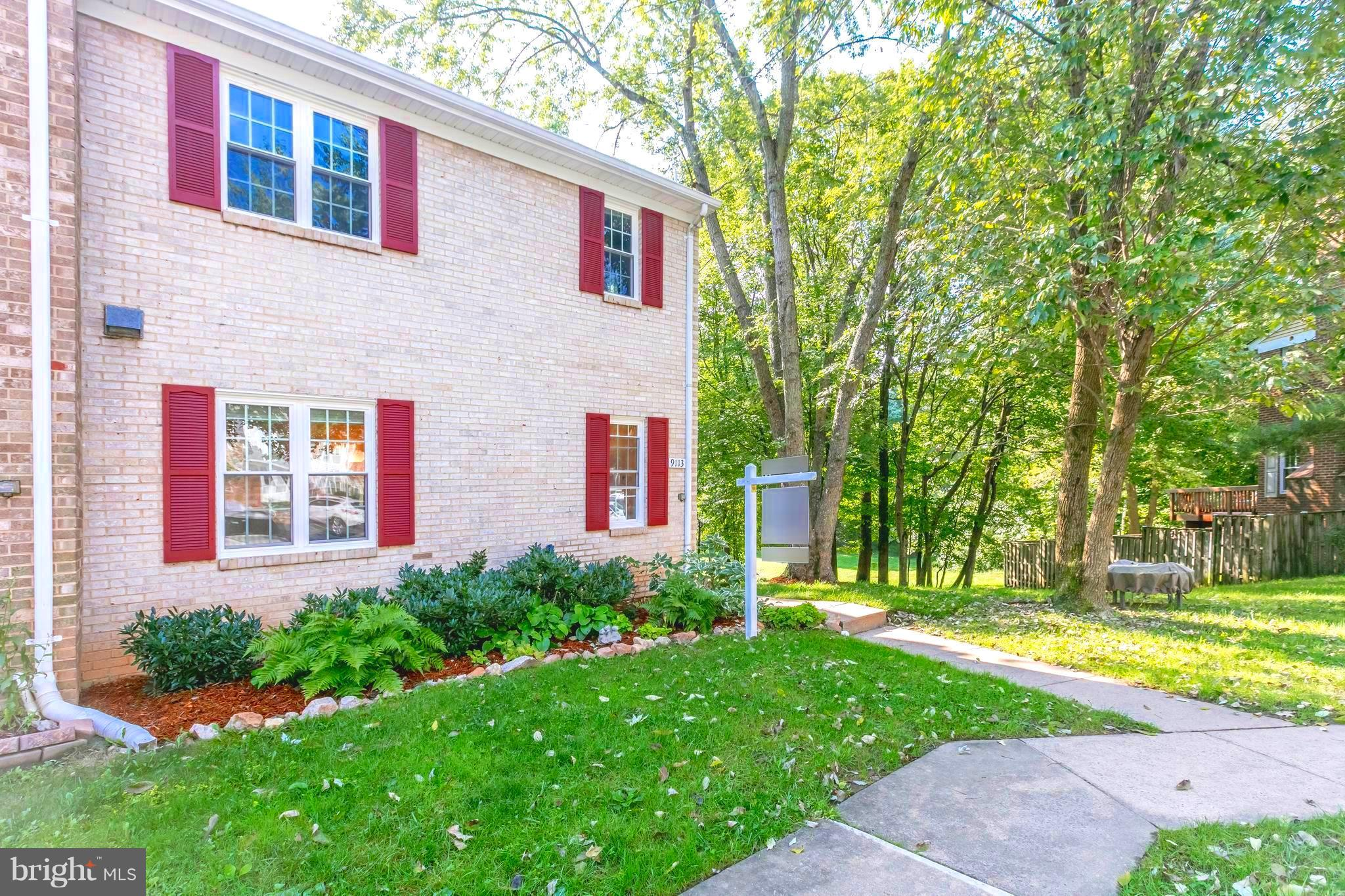 Stunning 3 LVL TH w/handcrafted cabinets, gourmet appliances, granite countertops, refinished hrdwds, newly painted, double pane windows, slider & doors, Air Handler 2018, H20 Heater '17! 3 bedrms up, 1 bed/office on Main LVL & gorgeous bath renos! W-out LL w/WB fireplace & huge family Rm! Fenced! Huge open green space w/walking path to Huntsman Lake! German Immersion schools...mins to Starbucks!