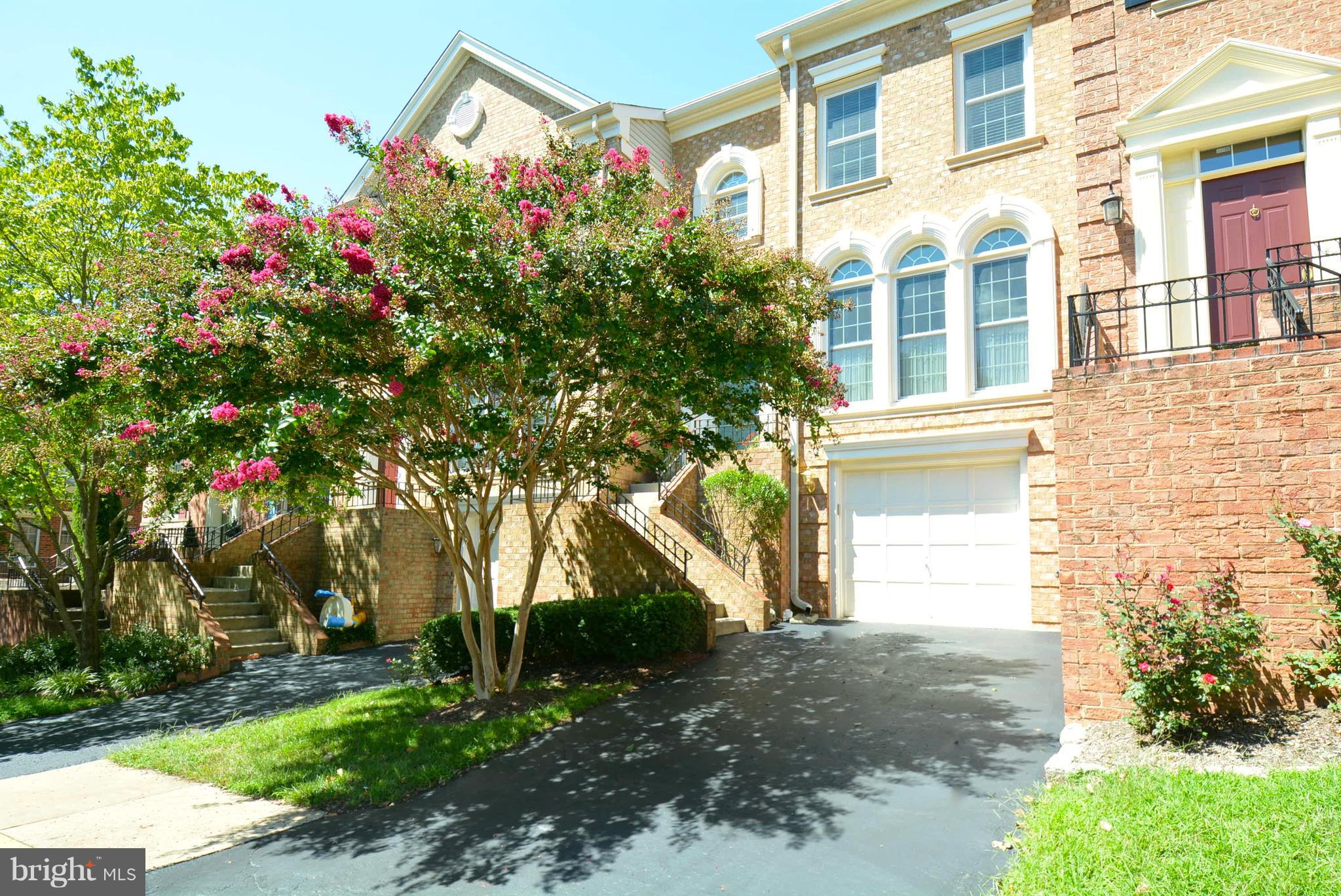 THIS GARAGE TOWNHOME IN PRIME LOCATION IS LOVELY!!! Updated kitchen & master bath..Large kit w/eat in area & SGD to upper deck..Formal sunlit LR..Formal DR..Skylite in upper hall..MBR w/walk in closet..MBR bath updated..LL RR w/FP & walk out to LL deck..Home backs to trees..Great backyard landscaping..Many updates..Near Ft. Belvoir, Parkway, Spgfld Metro..Seller use Natl Settle..Immaculate!!