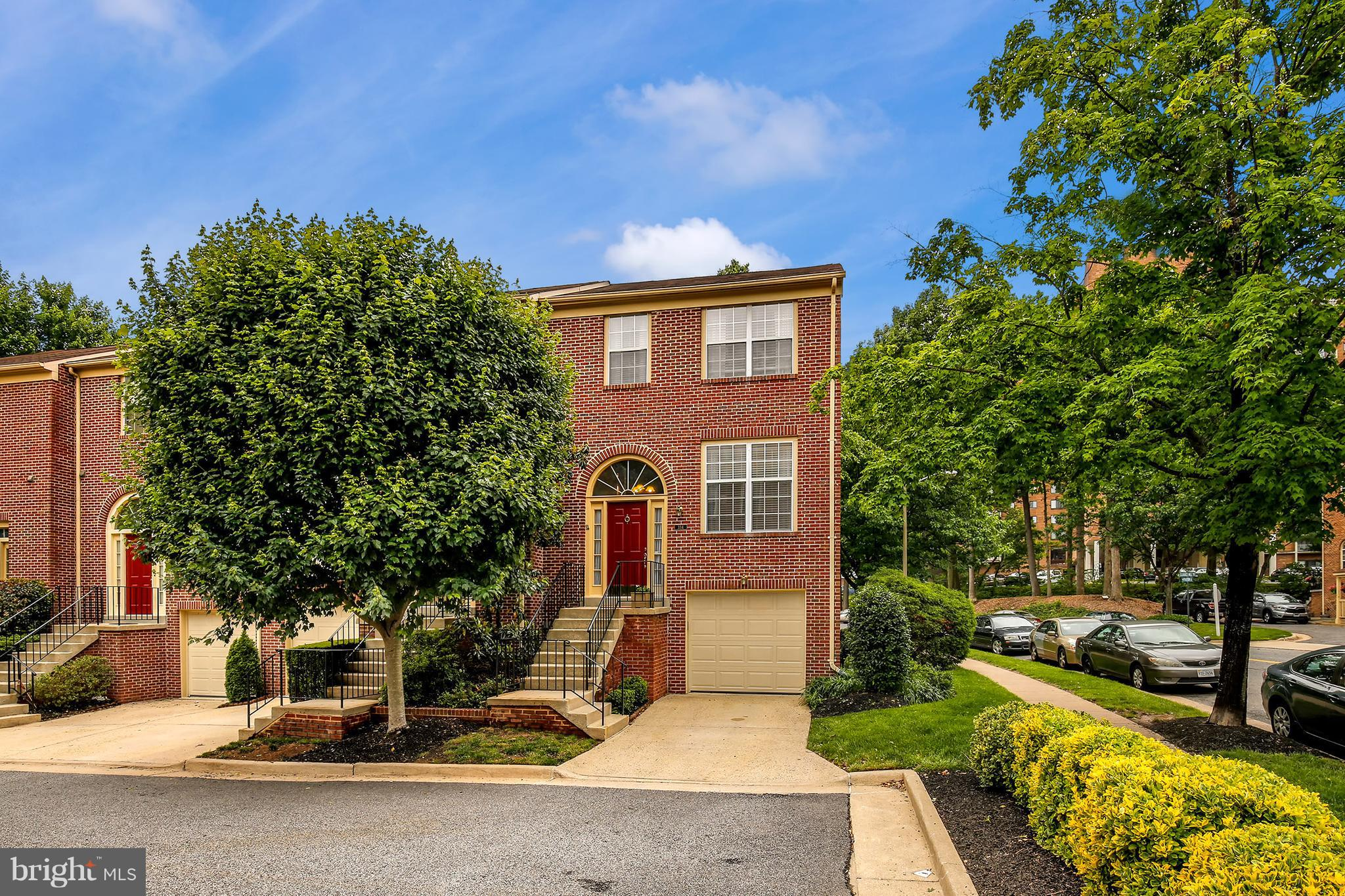 Welcome to Mill Stream. Large, move-in ready, brick-front garage TH. 3 finished levels with the convenience of condo living! Updated kitchen & baths, fresh paint & newer carpet. 1.985 sf, including rec. room, 2 FBA + 2 HBA. New roofing, HVAC, large patio and composite deck. Heart of Alexandria location w/easy access to restaurants, transportation and shopping.