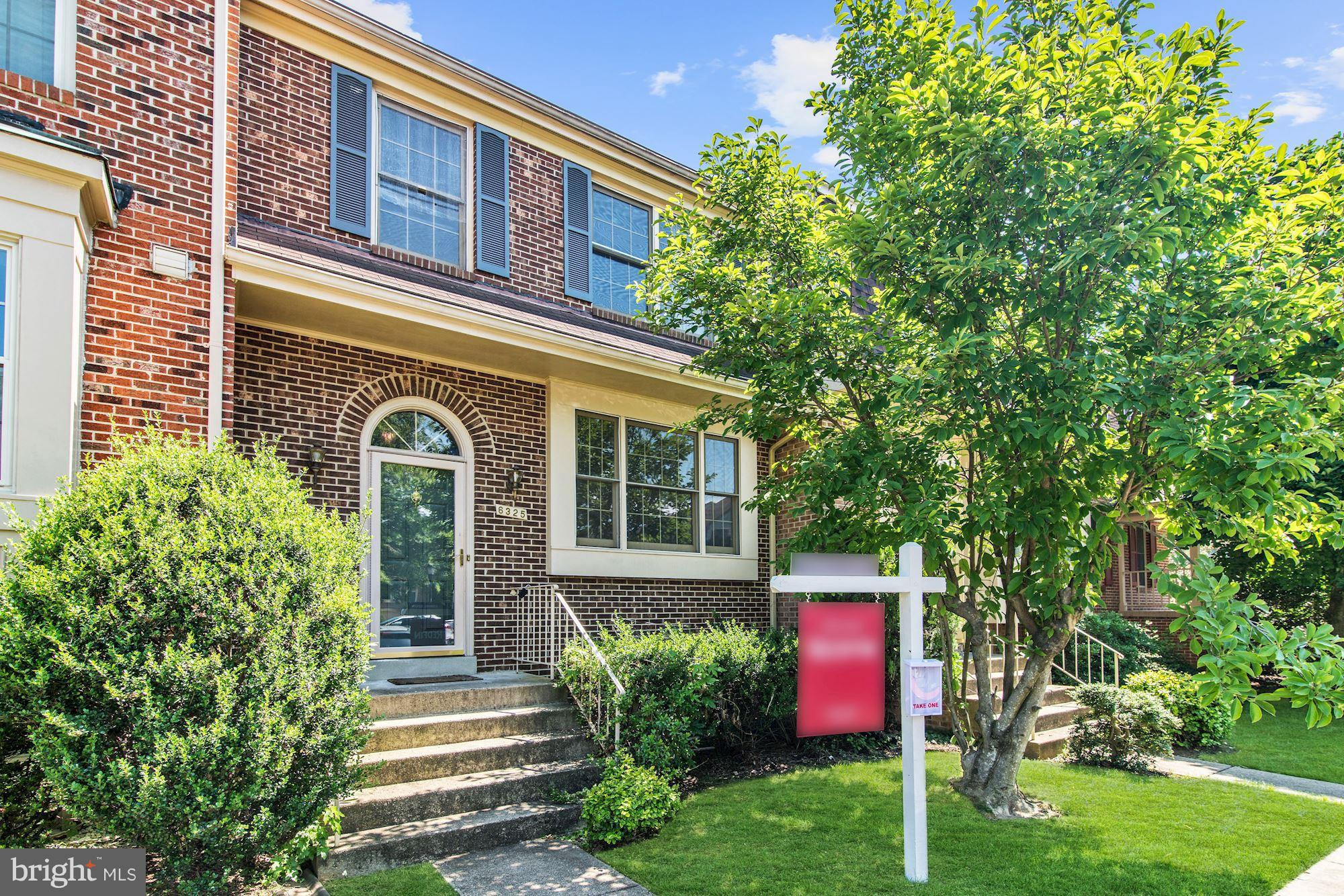 Brilliant hardwood floors, a bright and spacious family room, finished basement complete with a brick fireplace and walkout access.  Located just across the street from restaurants and essential shopping.