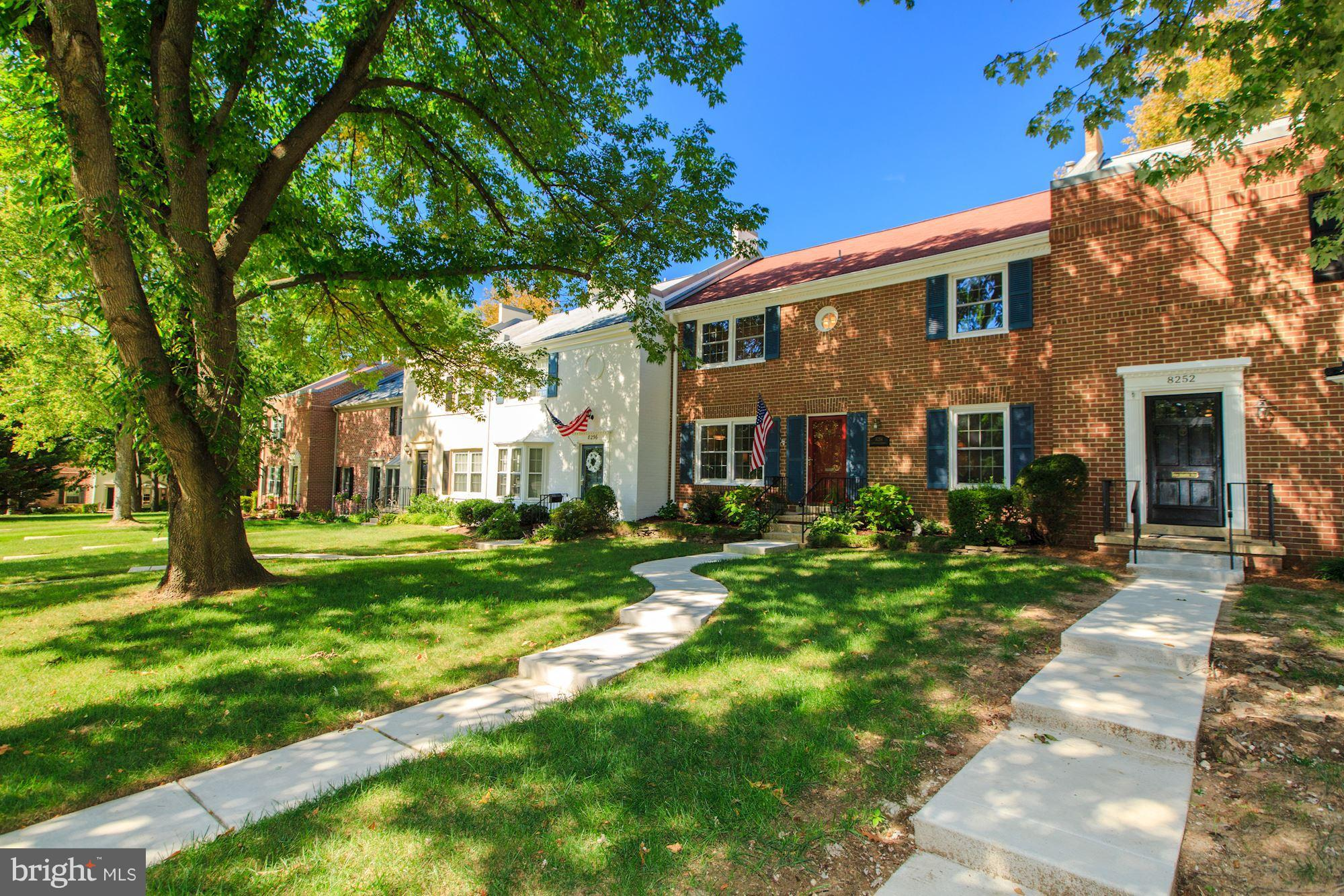 Beautiful Concord model in sought-after Charlestown*main lvl Study/5th BR*walk-out from kit. to patio w gazebo/storage shed & 2 parking spaces*replaced windows*new HVAC -'15*New HW heater '17*HOA includes exterior maintenance (i.e.: painting,roof replacement & front lawn care)*West Spfld HS pyramid*hardwoods main level & upper (under carpet)*walk to metro bus*2 miles to VRE