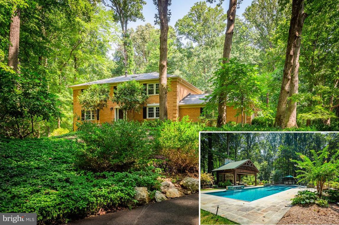 Over $700K in renovations w/new Kitchen, Master BR Suite w/Lux Bath & room-size closet, all New finished basement w/RecRm &FP, Den/BR4(NTC), FBA & Walkout! Outdoor Living Area w/In-ground PebbleTec heated salt-water pool with water falls, Adirondack Cedar Pool House w/FP#3, retractable screens, accent lighting! Beautiful landscaped yard! 32'x10.4 Deck! House Generator supply for 3-4 days with A/C!