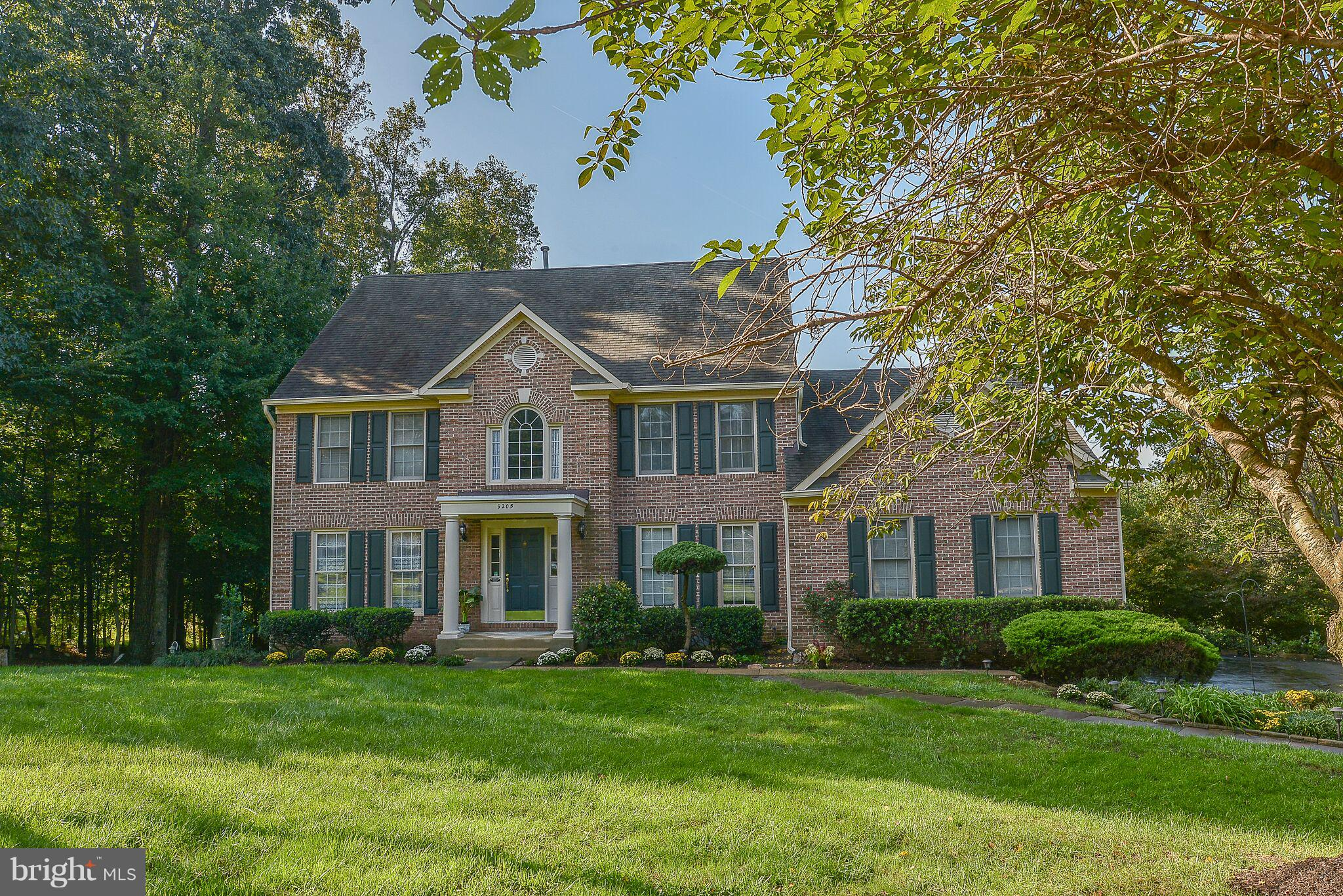 Rare opportunity in sought-after Southpointe Estates. With over 4,000 sq ft of living space, this beautiful brick colonial sits on a gorgeously landscaped 0.88 acres, offering a tree-lined driveway, and a private backyard with views of wildlife and Elk Horn Creek. Minutes to shopping, restaurants, golf, trails, and Laurel Hill equestrian center. Conveniently located near all major roadways.