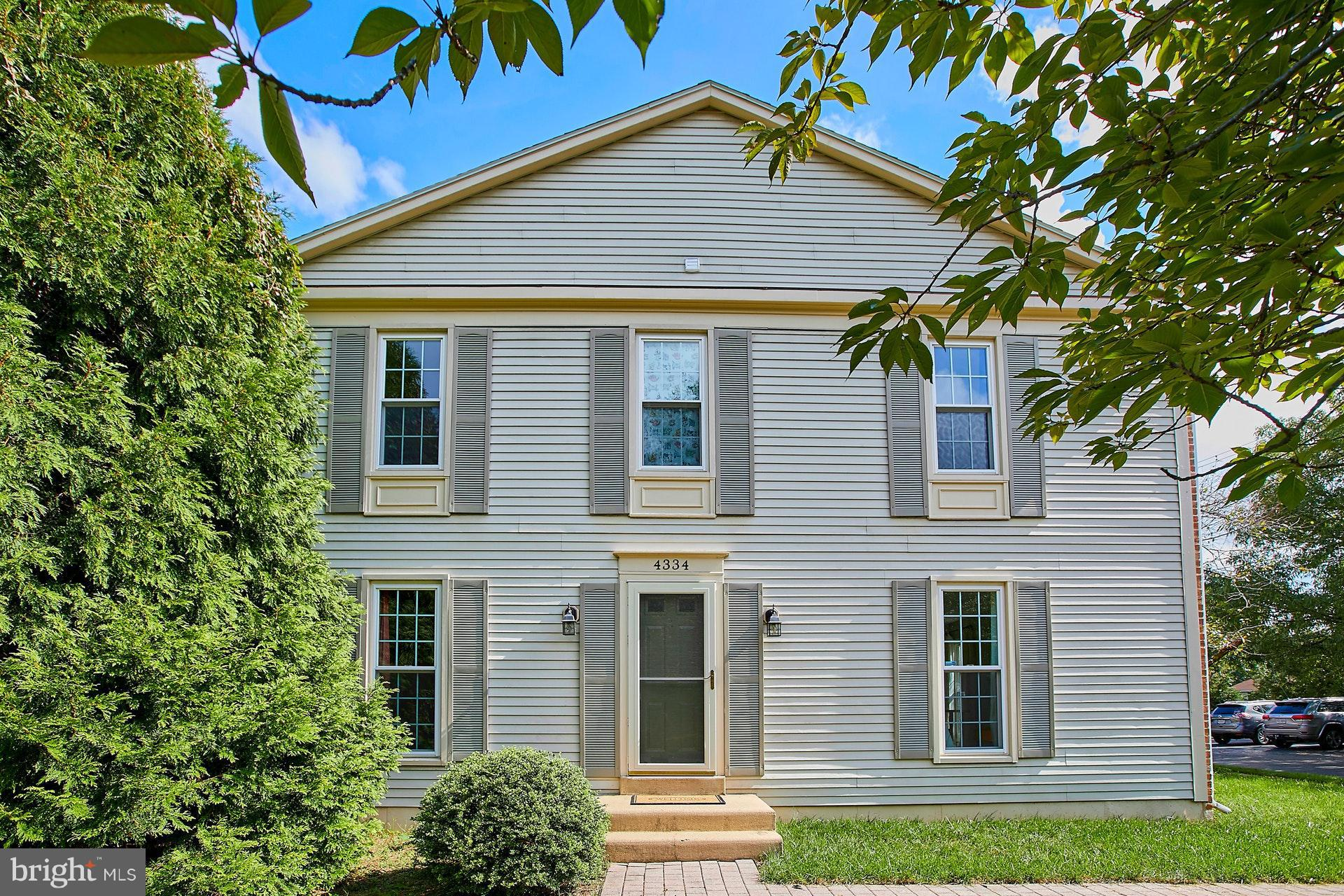 OPEN HOUSE SAT & SUN OCT 20TH & 21st 2-4PM! Spectacular end unit TH w/ 3 BR, 2 Full BA, 2 half BA & 2 wood burning FP.  All new carpet in Family room & upper lvl. Updated gorgeous kitchen w SS appliance & granite. Both full BAs updated. Lower lvl with den/ office space & built in bookshelves. Fenced in patio- perfect for entertaining. Commuter dream location - 5 mins to METRO, mins to Old Town, DC