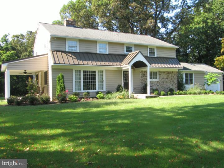 Welcome to 1923 Firethorn Lane! A renovated 5-bedroom, 3-bathroom stone colonial situated on a prime cul-de-sac in desirable Villanova. Enter the living room with fireplace and handsome hardwood floors that reflect an abundance of light throughout and continue into the dining room. Access the covered flagstone patio from here. Back inside, a state-of-the-art kitchen with granite counters, stainless appliances, travertine backsplash, solid cherry cabinets with built in spice rack and appliance garage. The family room features parquet hardwood floors, built in desk, door leading outside and entry into 2-car garage. Convenient first floor bedroom (could be primary or library) with full granite bathroom. A music room and laundry room complete this level. Upstairs hosts a primary bedroom with two walk in closets, primary bathroom featuring crema-marfil marble & glass shower with a Mohen rain faucet. Three additional bedrooms share a hall bathroom with carrara marble topped vanity and Kohler sink, beaded board & beveled glass vanity. Notable features include New vinyl replacement windows, new standing seam metal front roof, front portico trimmed in aztec, expanded 1st floor doorways & new six panel doors. TOP rated Lower Merion School District with proximity to some of the best private schools in the country, as well as ALL destinations of interest along the Main Line including premier shopping and renowned restaurants. minutes to major roads. * * * Visit the personalized website that we created especially for this home at 1923FirethornLane.ListingSeller.com to view enhanced professional photography, community video, detailed floor plan, virtual reality walk through, and three-dimensional Matterport tour * * *