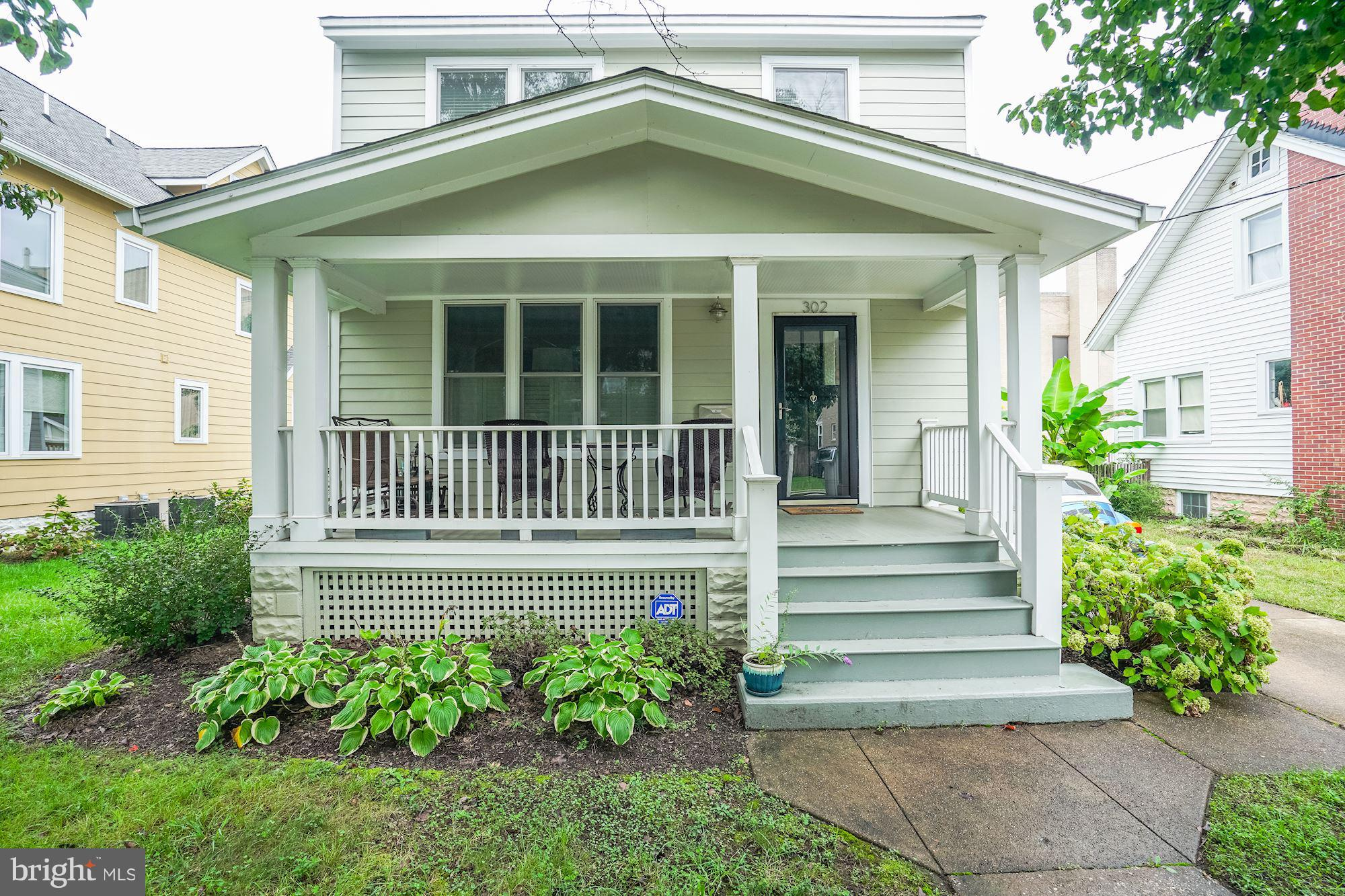 """Beautiful complete remodel of a 1920's Bungalow in Del Ray. One block from """"The Avenue""""& short distance to Braddock Rd. Metro. Quaint front porch. Fully customized & updated kitchen. This home is what everyone wants in their perfect Del Ray Home. The Basement has been fully finished to include a guest suite & family room. Separate Master Bath. Garage! Great Fenced Back Yard!"""