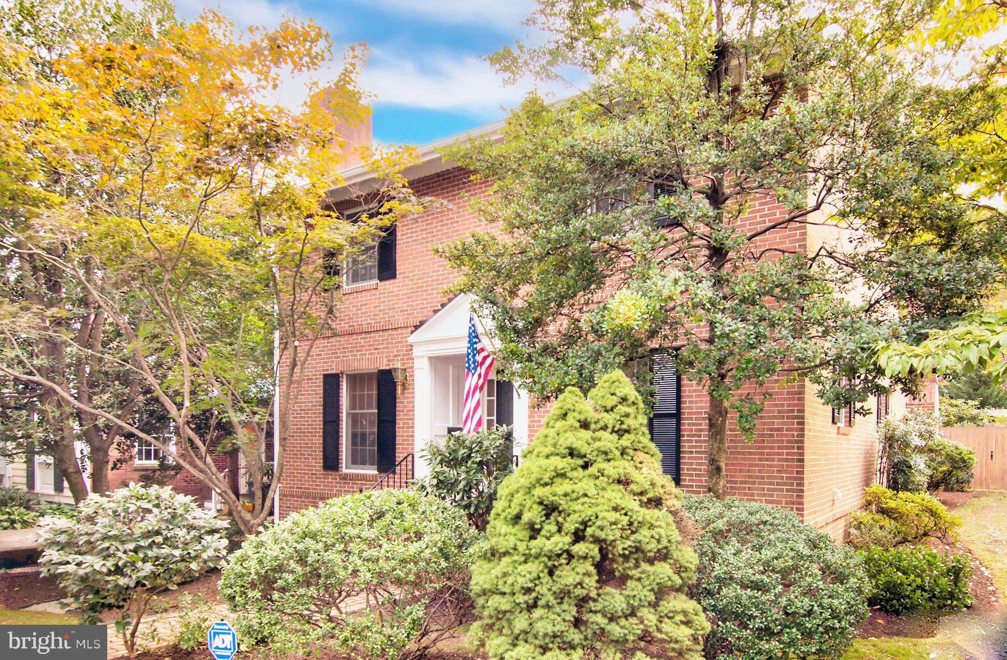 Charming brick colonial near Braddock Metro Station. Seize the opportunity to own this well-appointed 4 bedroom home in Braddock Heights, Alexandria, VA. This well-situated detached residence offers rich hardwood floors throughout the main floor, a large living room with an elegant fireplace, separate dining room, a comfortable recreation room with fireplace, vaulted ceilings and tons of windows.