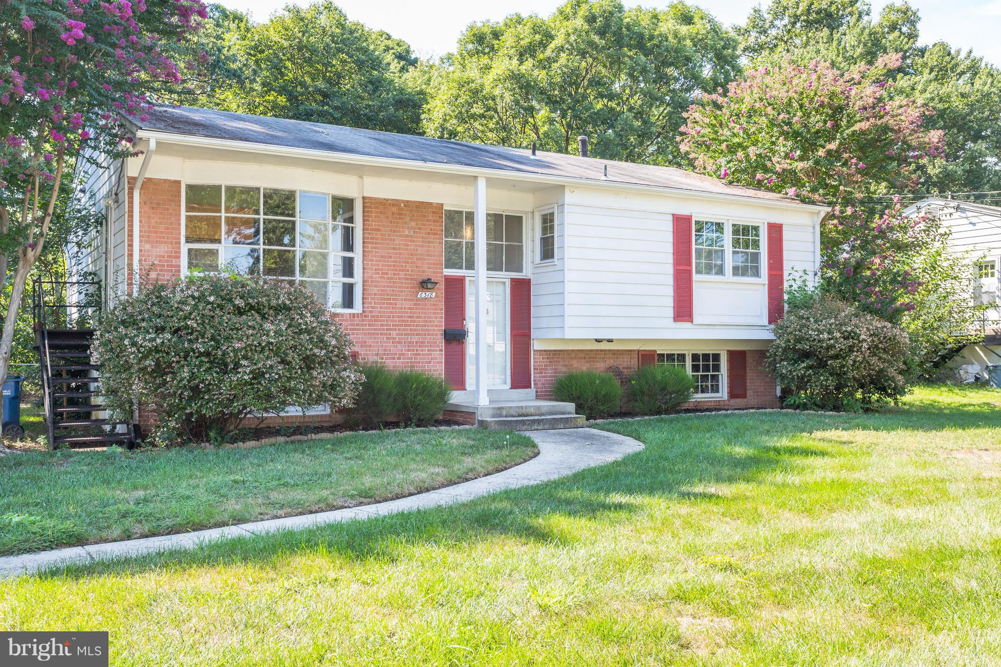 JUST LISTED AND OPEN SUNDAY 9/16 FROM 2-4PM. Incredible opportunity for charming home in the heart of Springfield. 5BR/2.5BA sitting on beautiful flat and grassy lot. Hardwood floors and sunny open living throughout. Perfect proximity to everything including metro, town centers, shopping, major highways, restaurants, and Lee HS.