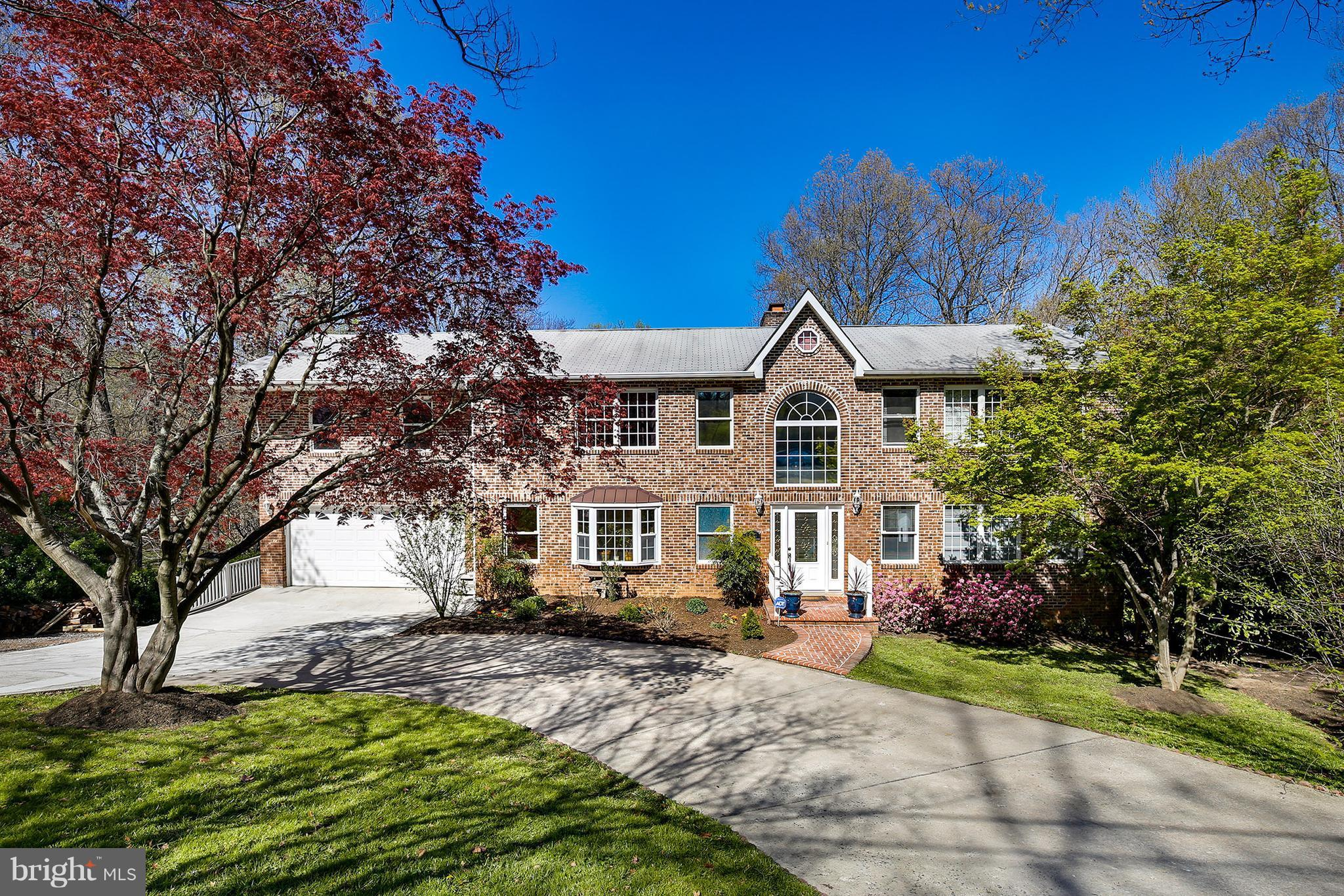 Incredible home on a gorgeous lot w/ circular driveway. Less than a mile to Thomas Jefferson school. LL w/ in-law suite. Wet bar. Entertainment room. Two-level deck. HW floors. Bright & open kit w/ granite, SS apps. MA suite w/ large walk-in closet, jacuzzi tub, sep. shower & dual vanities. Spacious BRs. 2nd-fl laundry. Close to everything on a quiet & serene street. Great for entertaining!