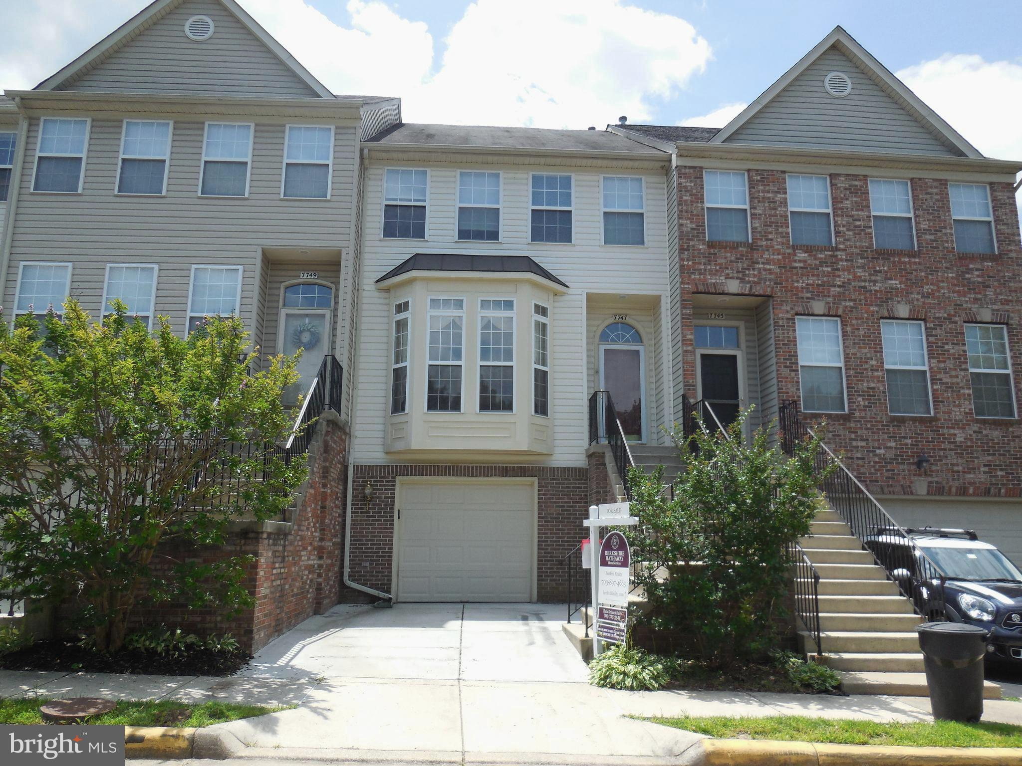 Commuters dream. Spectacular Island Creek 3 BR, 2 full BA plus 2 half BA, 1-car garage townhouse features a bright and open floor plan. Amazing kitchen w/island and incredible butlers pantry. Huge deck is perfect for entertaining. Finished walk-out bsmt. w/fp and 1/2 BA. Close to Metro, Fort Belvoir, Wegman's, NoVa Community College, commuter routes and the Mall. HVAC and HW heater being replaced.