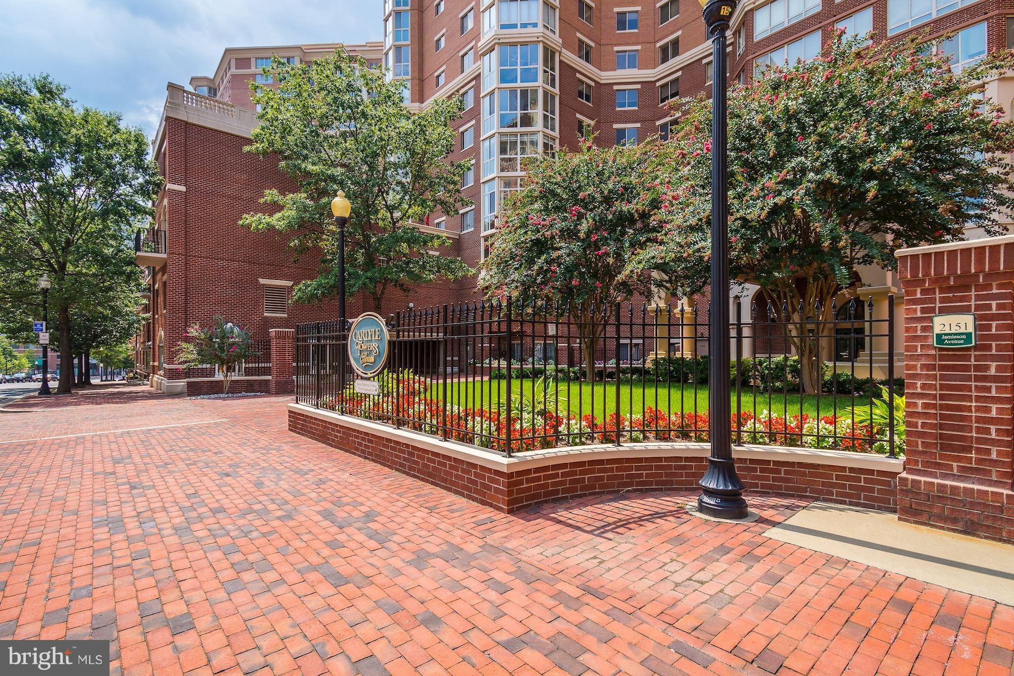 OPEN SUN 1-4.Rarely Available unique floor plan: 2,400+ sq ft of renovated sunny space w/ spectacular 17th fl. views of Alexandria. Spectacular Brazilian Chestnut floors throughout, upgraded appliances.2 Sunrooms, 2 Grg Sp., 2 Strg. Units.  Wheelchair accessible MBR & Bath w handheld shower. Automated unit door w remote & keypad. Many upgrades. Full service bldg w indoor& outdoor pools\, tennis