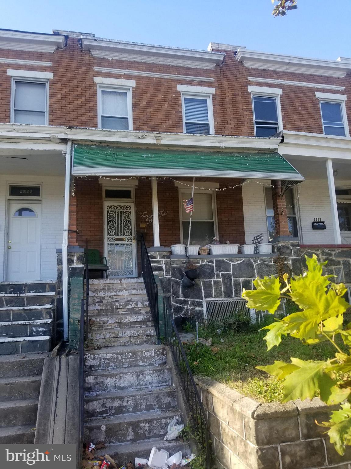 2524 AISQUITH STREET, Baltimore, MD 21218