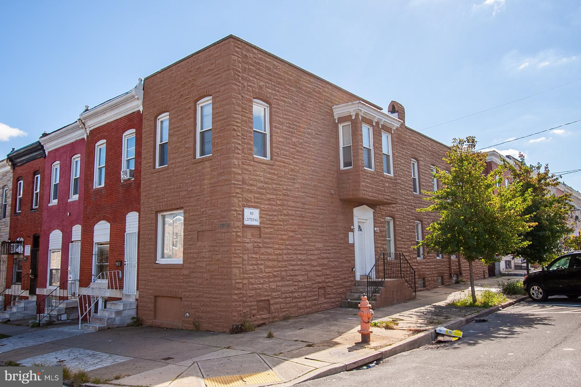 2601 E MONUMENT STREET, BALTIMORE, MD 21205