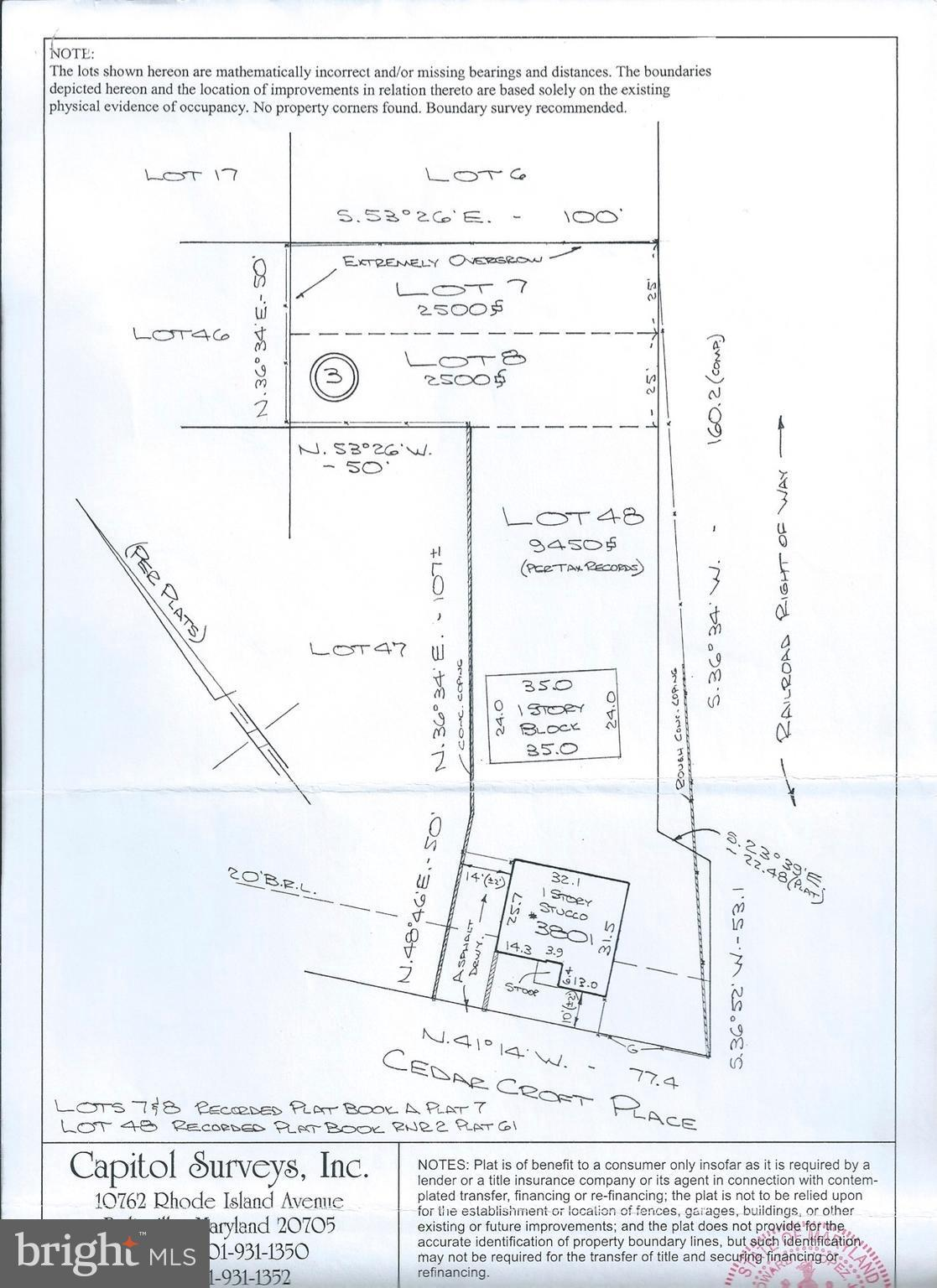 3801 CEDAR CROFT PLACE, BRENTWOOD, MD 20722