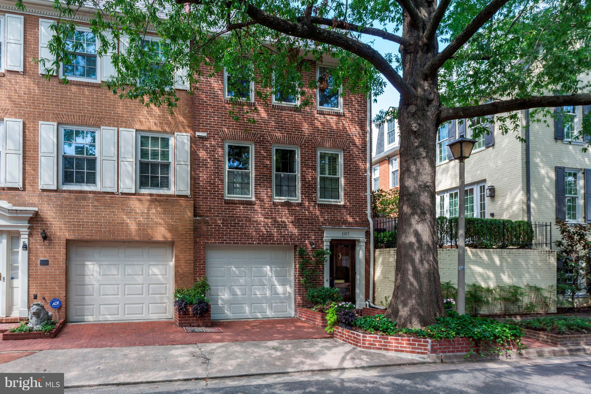 Brick End Townhouse, Located on a Double Deep Lot, Oversized Patio. 500 Feet to the Founders Park and Waterfront of the Potomac River. Living Room with 11 Foot Ceiling, Fireplace, Separate Dining Room, Gourmet Eat-In Kitchen, Lower Level Family Room has a Gas Fireplace and adjoining Full Bath. Three Bedrooms with Separate Full Bathrooms.
