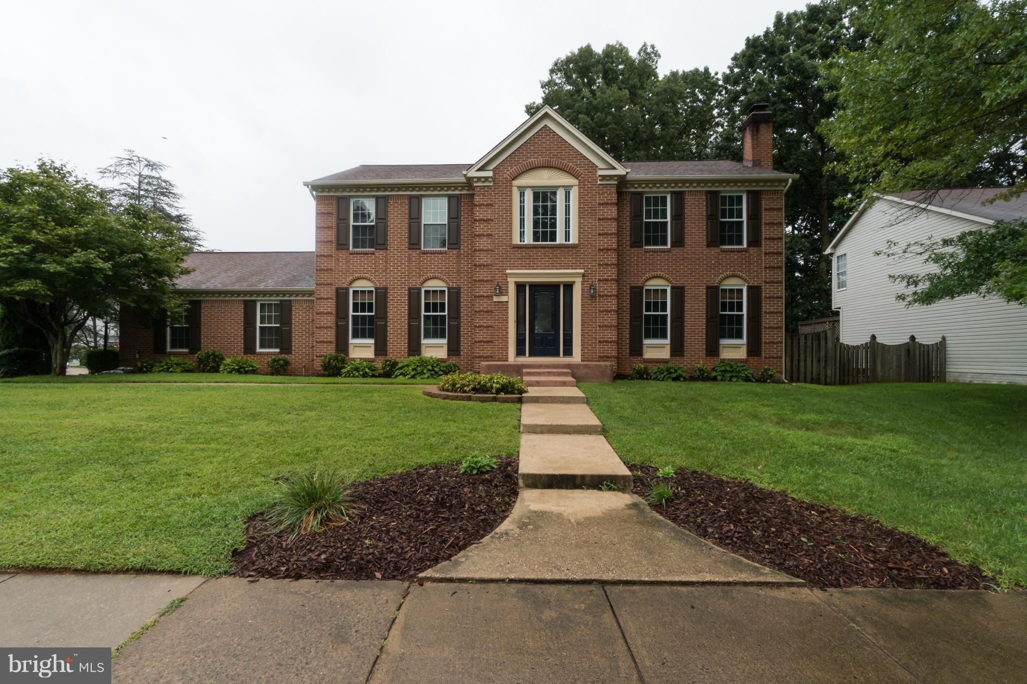 Back on the market after buyers financing fell thru.  2 level grand foyer welcomes you.Enjoy the in ground pool. Remodeled baths, freshly painted, new dishwasher, well maintained 5 bdrm home and 3.5 baths with plenty of space to stretch out on a corner lot in a quiet subdivision. Min.to I-95, VDOT lots,shopping, and restaurants. Efficient natural gas heat and hot water with fully fenced rear yard.