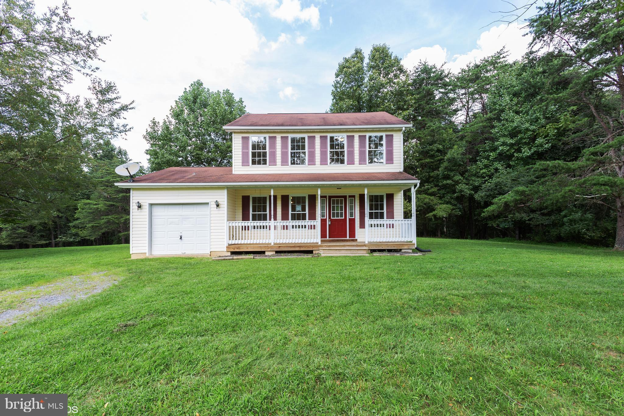 Looking for Acreage w access to Back Creek?  Move in Ready colonial style home sits on approx. 6.7 ac in the Birch Creek SD in Hedgesville. Home features 3 BRs, 1.5 BAs, attached 1 car garage, fresh paint, carpet and new Stainless appliances.