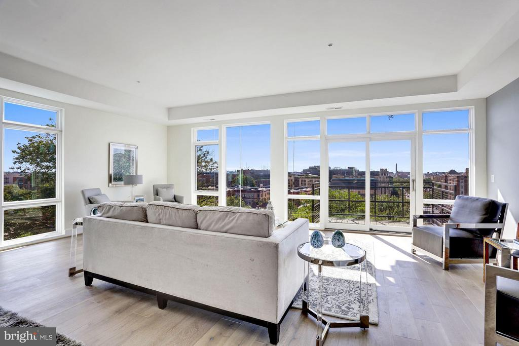Over 60% SOLD -  Delivery Feburary 2019. Unit 3East is a 3 bedroom, 3 bath unit with almost 2,000 sq. ft. that is perfect for entertaining. Views for miles of the city and beyond! The Sage On Belmont features stunning south facing units with city & monument views in eight unit boutique building. Two units per floor, multiple exposures, Almost 10 foot ceilings, premium finishes, steps to Meridian Hill Park & 14th Street corridor. Parking $40,000/space & storage spaces are $5,000/space. All info deemed reliable. Property taxes quoted are for the entire building, the unit's tax bill will be a lot lower. OTHER UNITS AVAILABLE...CALL FOR MORE INFO!