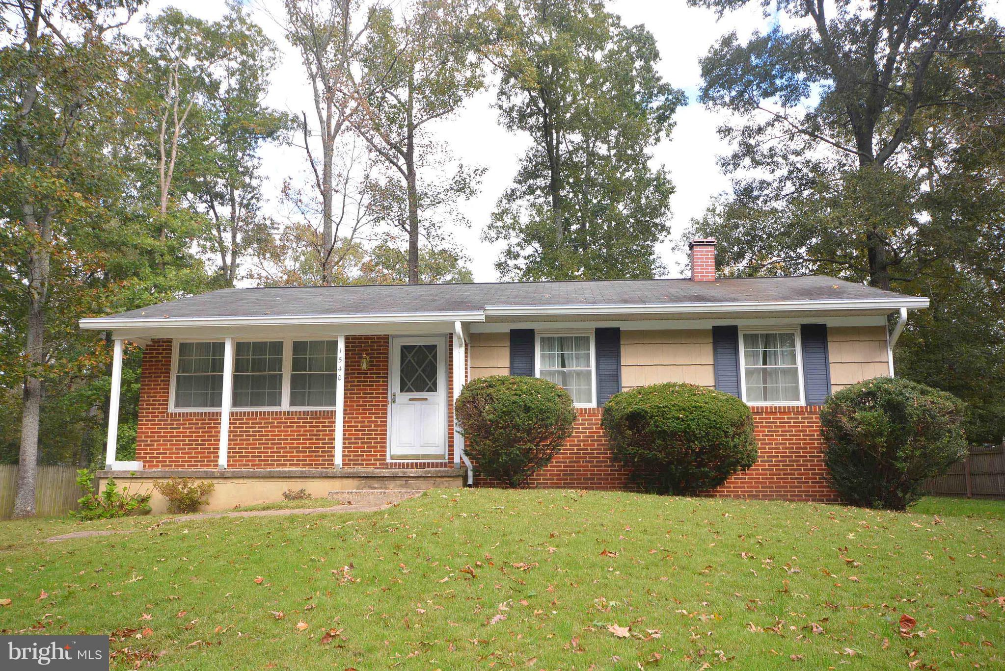1540 PATUXENT MANOR ROAD