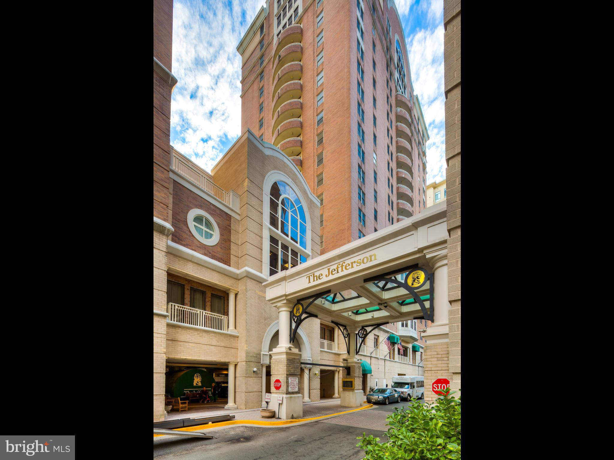 55 + Independent Living Retirement Community. Amenities fee of $3,205/month includes 30 fine dining meals, weekly housekeeping, weekly linen service, transportation and more. One block from Ballston Metro. Enjoy vibrant activity filled days and wind down in your private lovely condo complete with full kitchen and washer and dryer.