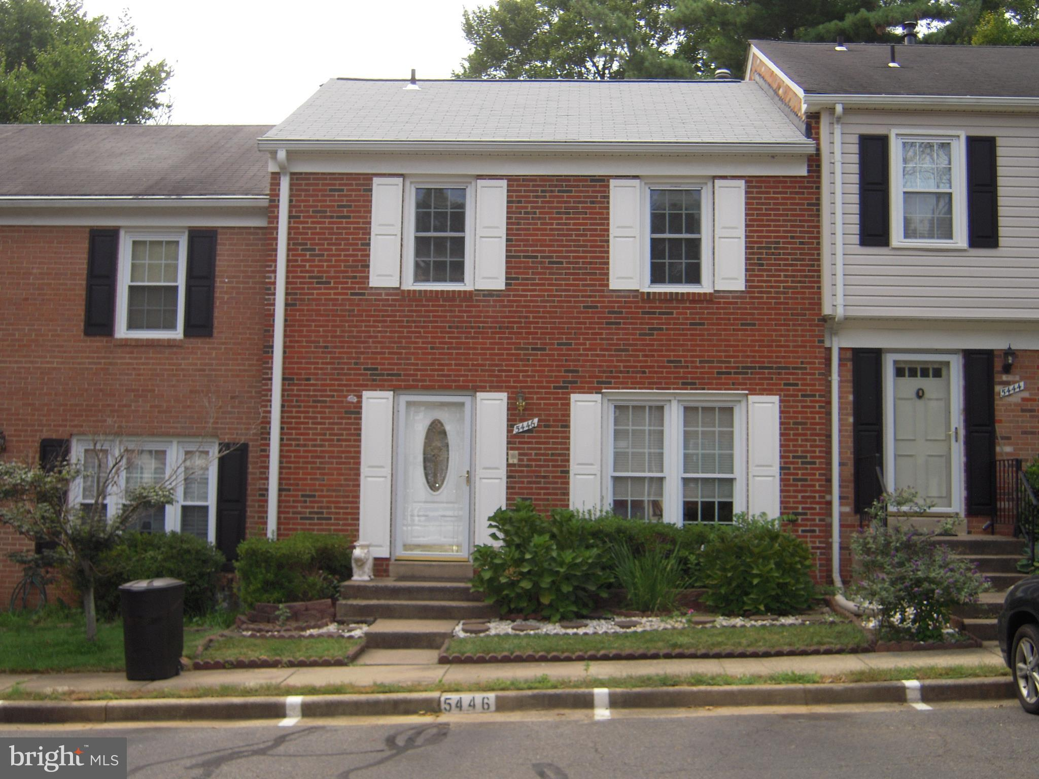 Spacious 3 level townhome in wonderful location. New paint, Hardwood floor on main and upper level, laminate on lower level, fenced patio, near public trail, No assigned parking.  Easy Commute right of Braddock and 495. Excellent location! Looking for Good Tenant & Pets allowed case by case, No Smokers* Processing fee $45.00 per Applicant * Good credit & references (scores Min 600) No Co-signers.
